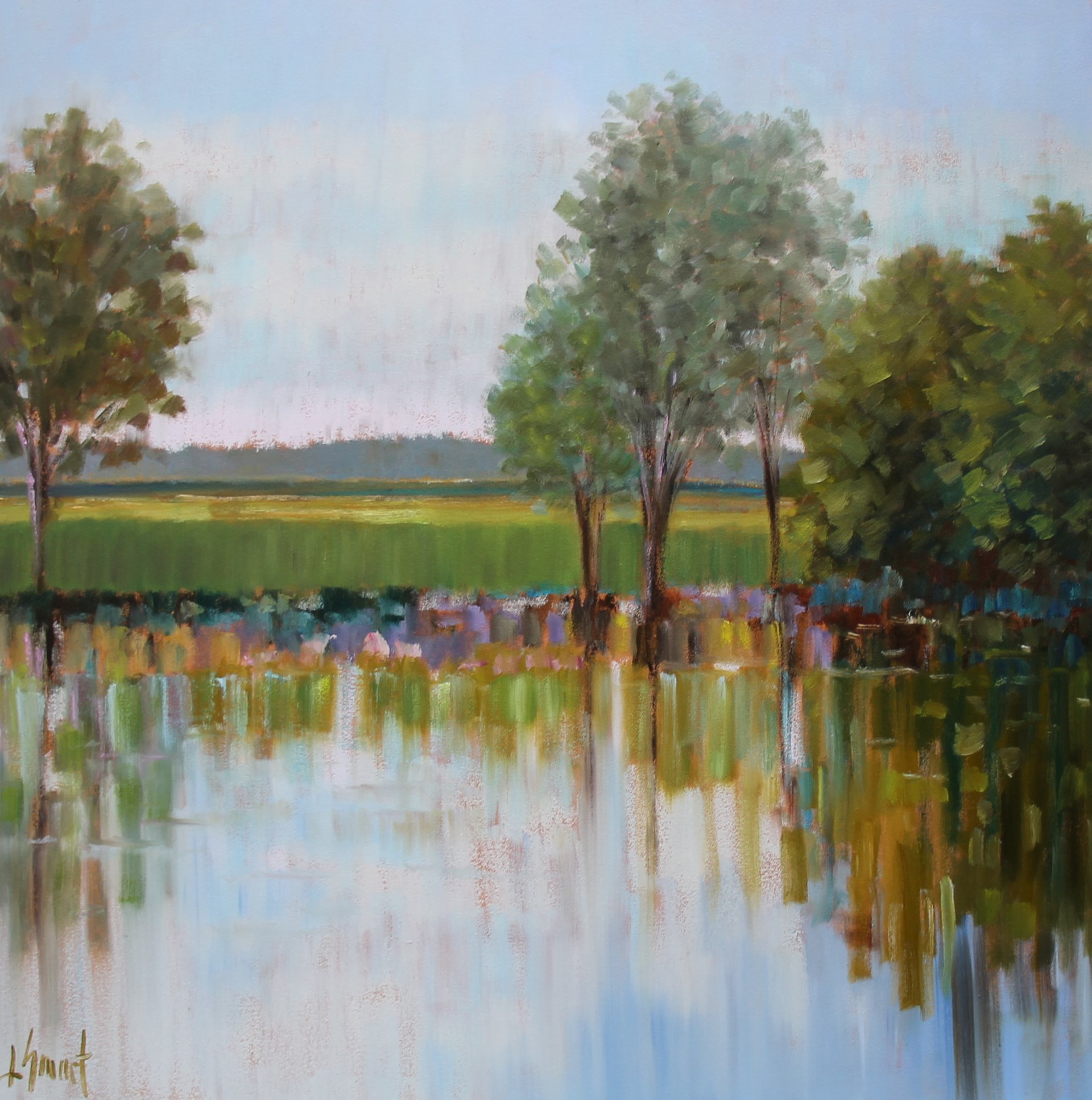 Along the Riverbank by Libby Smart