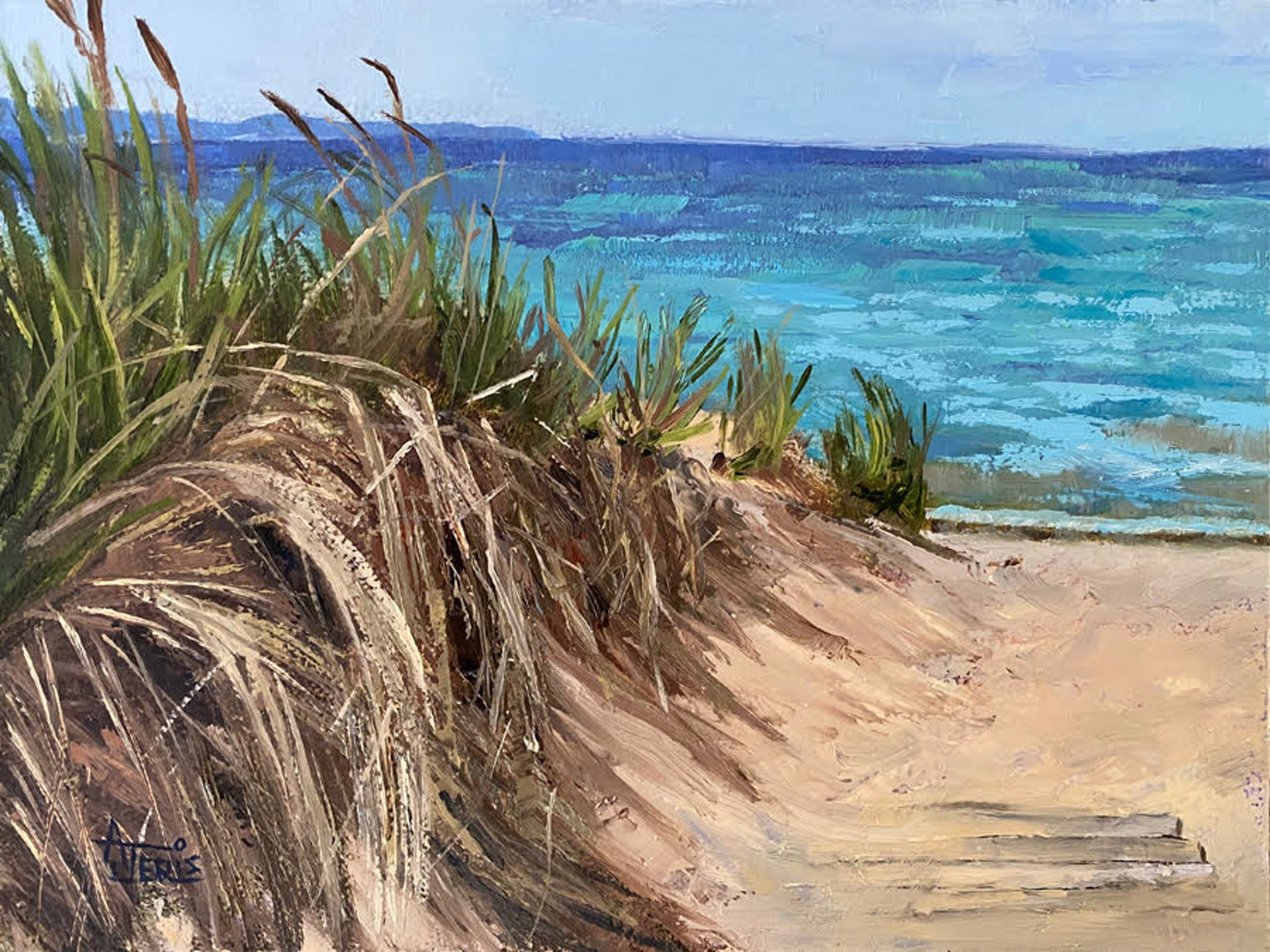 Way to the Beach by Andrea Jeris