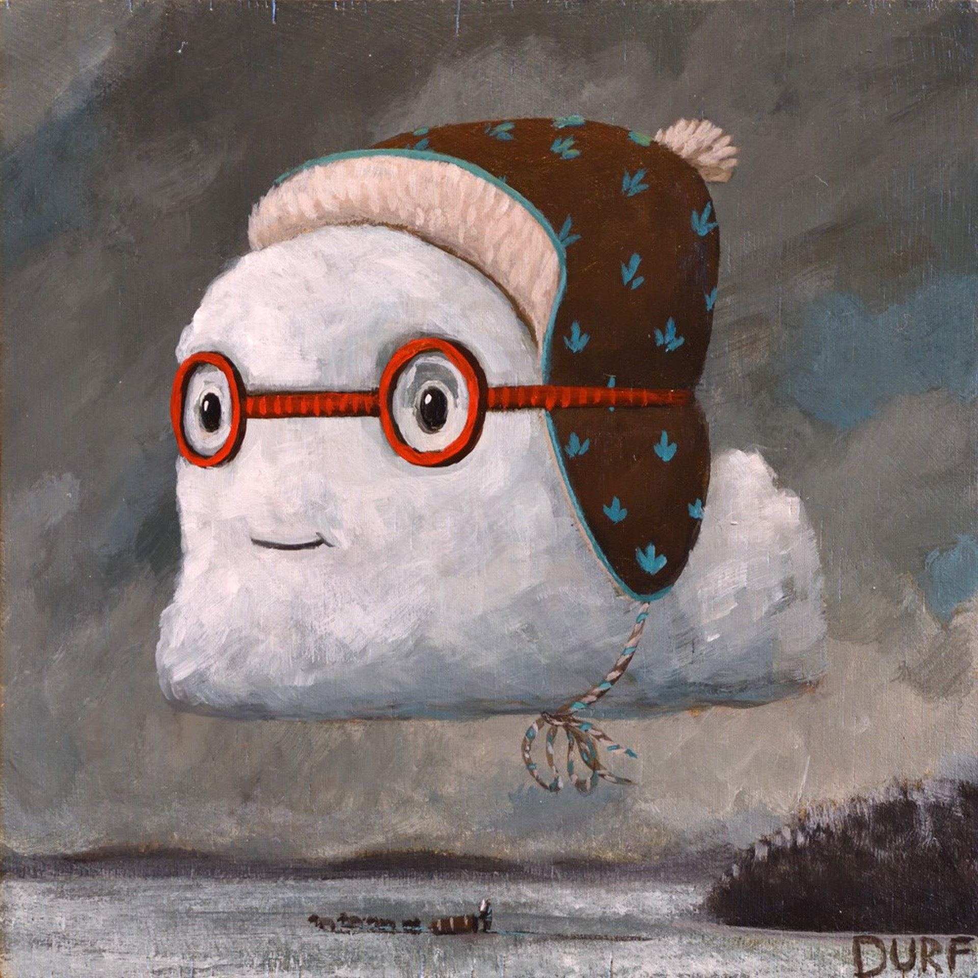 Winter Cloud by Nathan Durfee