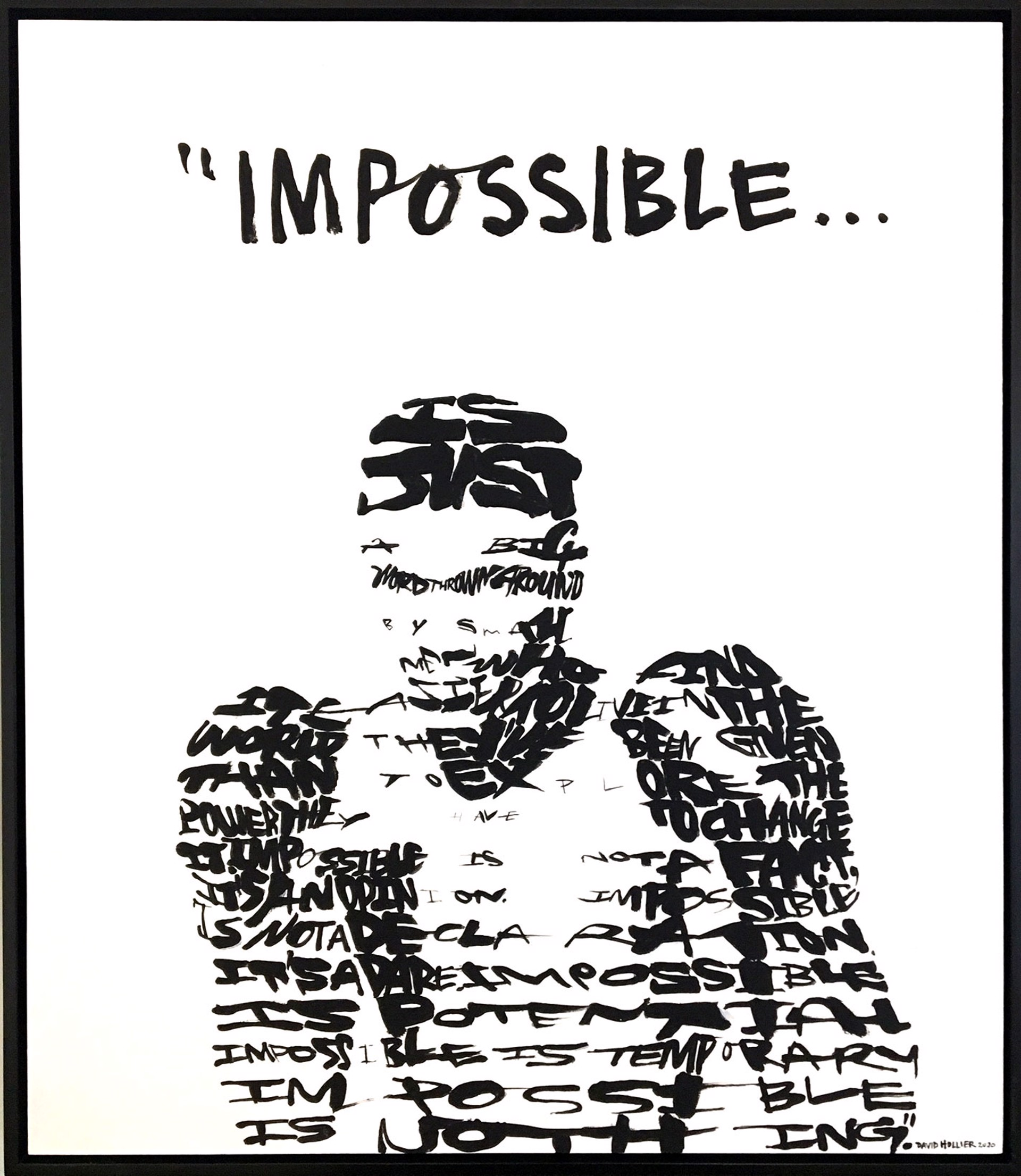 """""""Impossible"""" Muhammad Ali by David Hollier"""