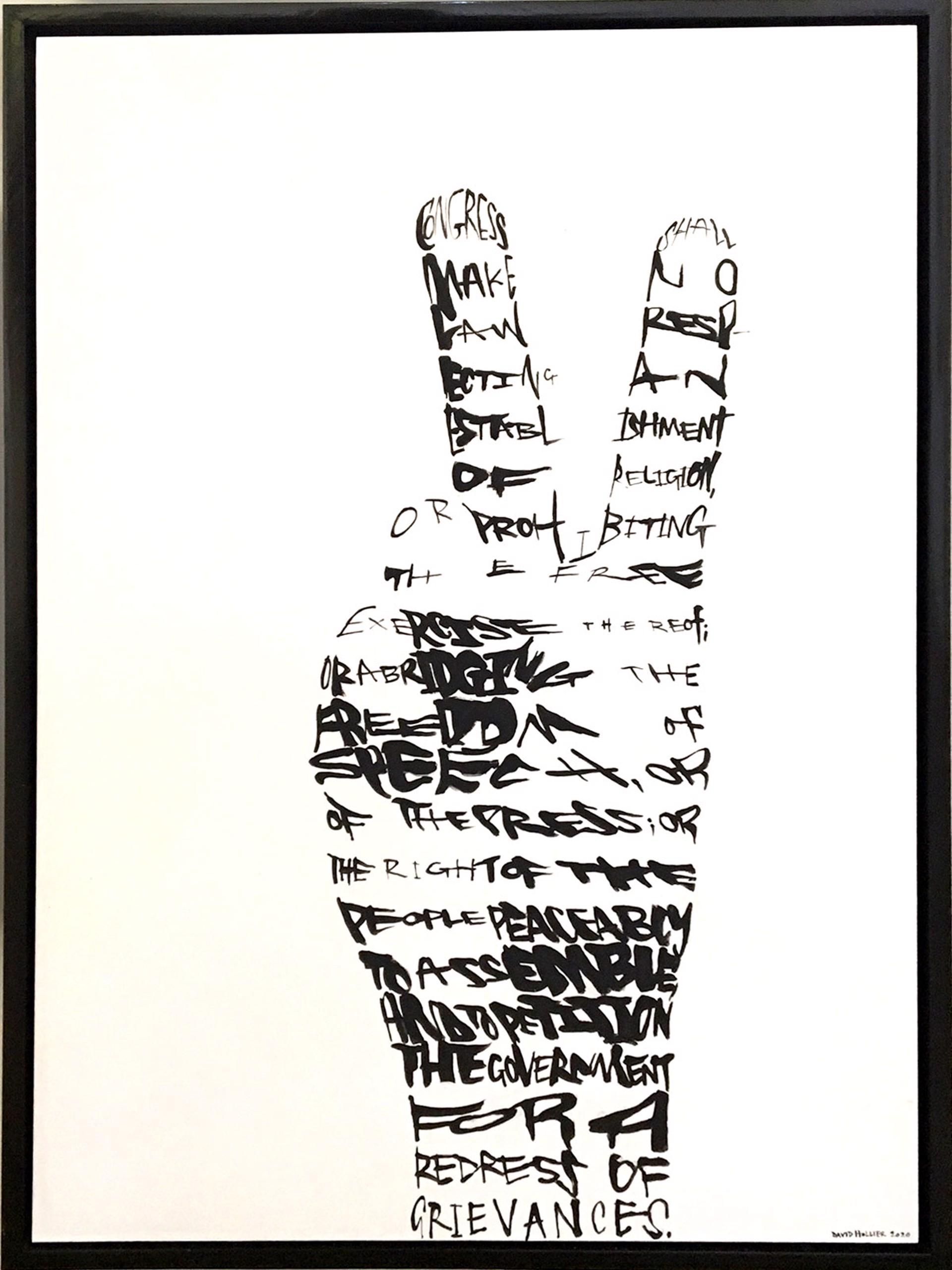 First Amendment by David Hollier