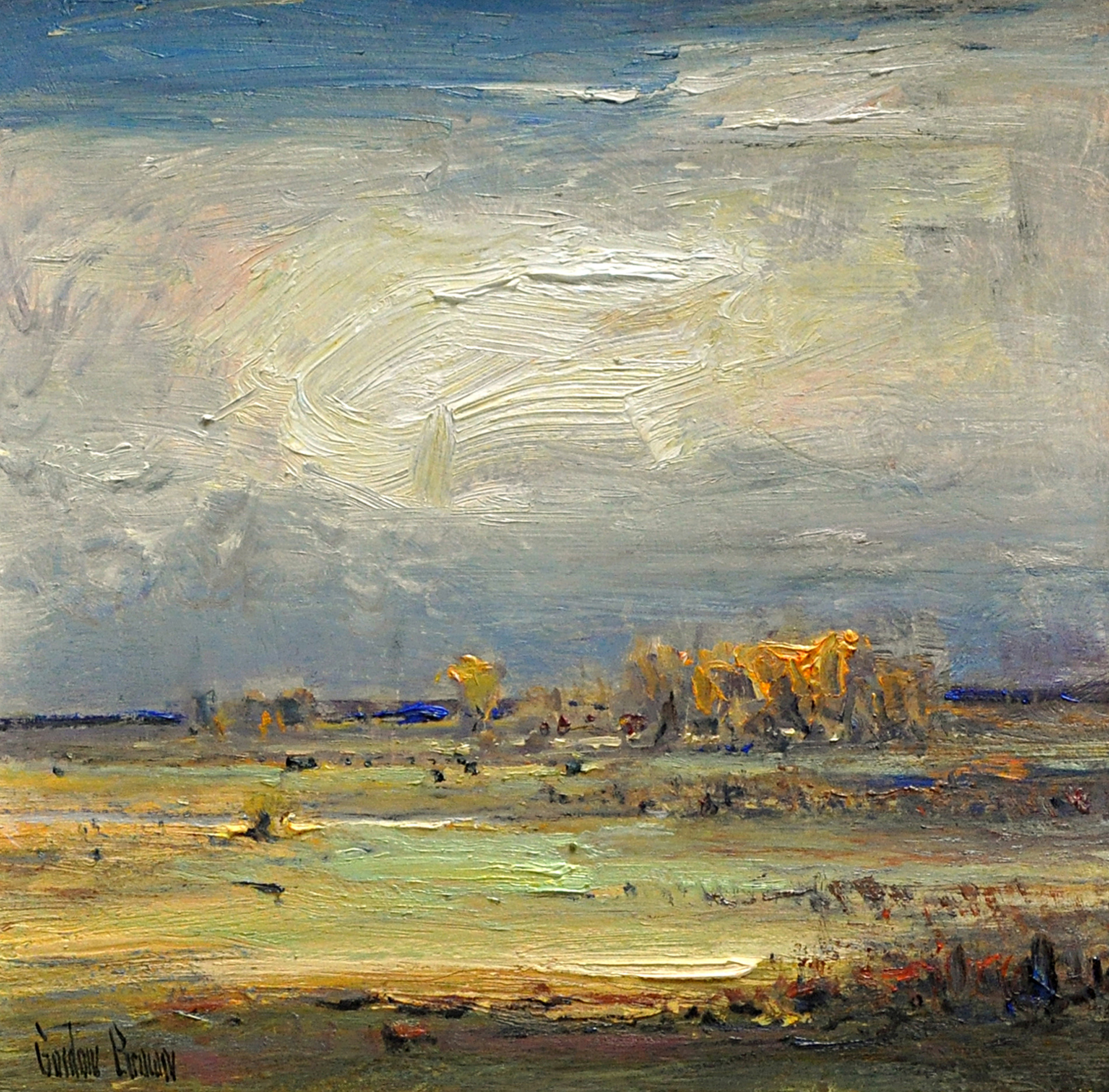 Distant Cloud by Gordon Brown