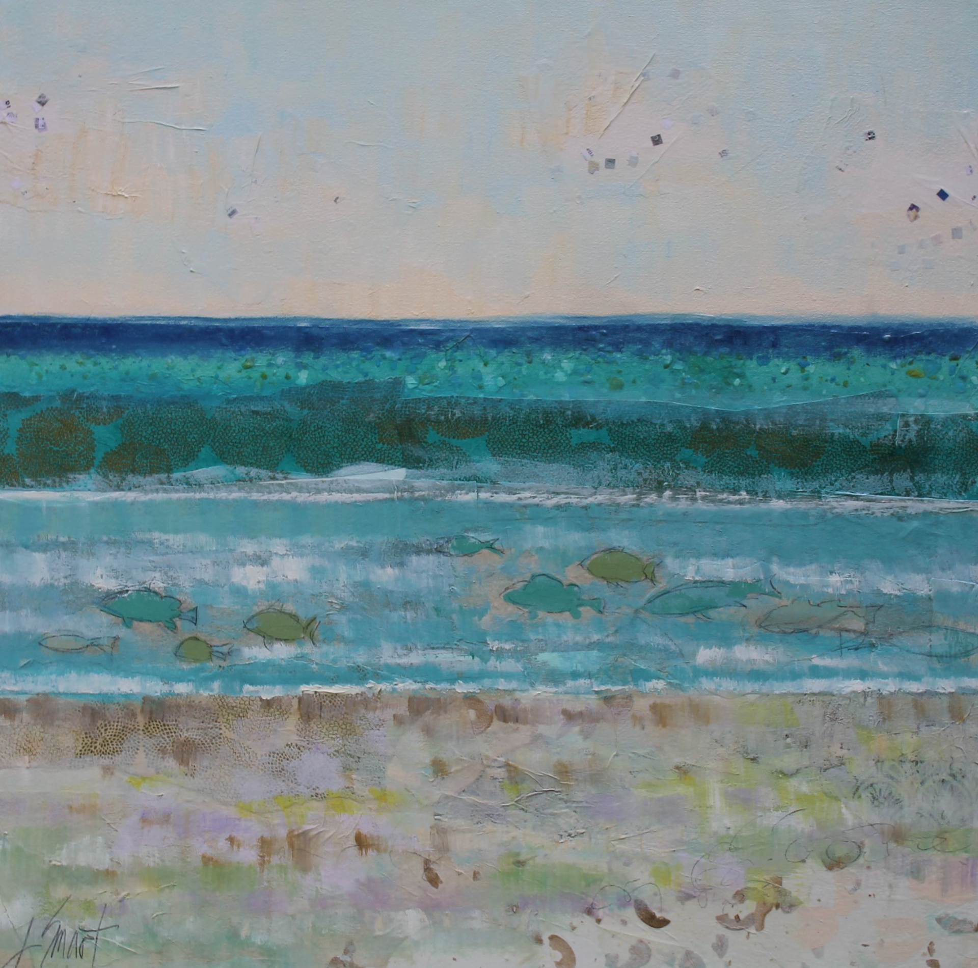 Ocean View I by Libby Smart