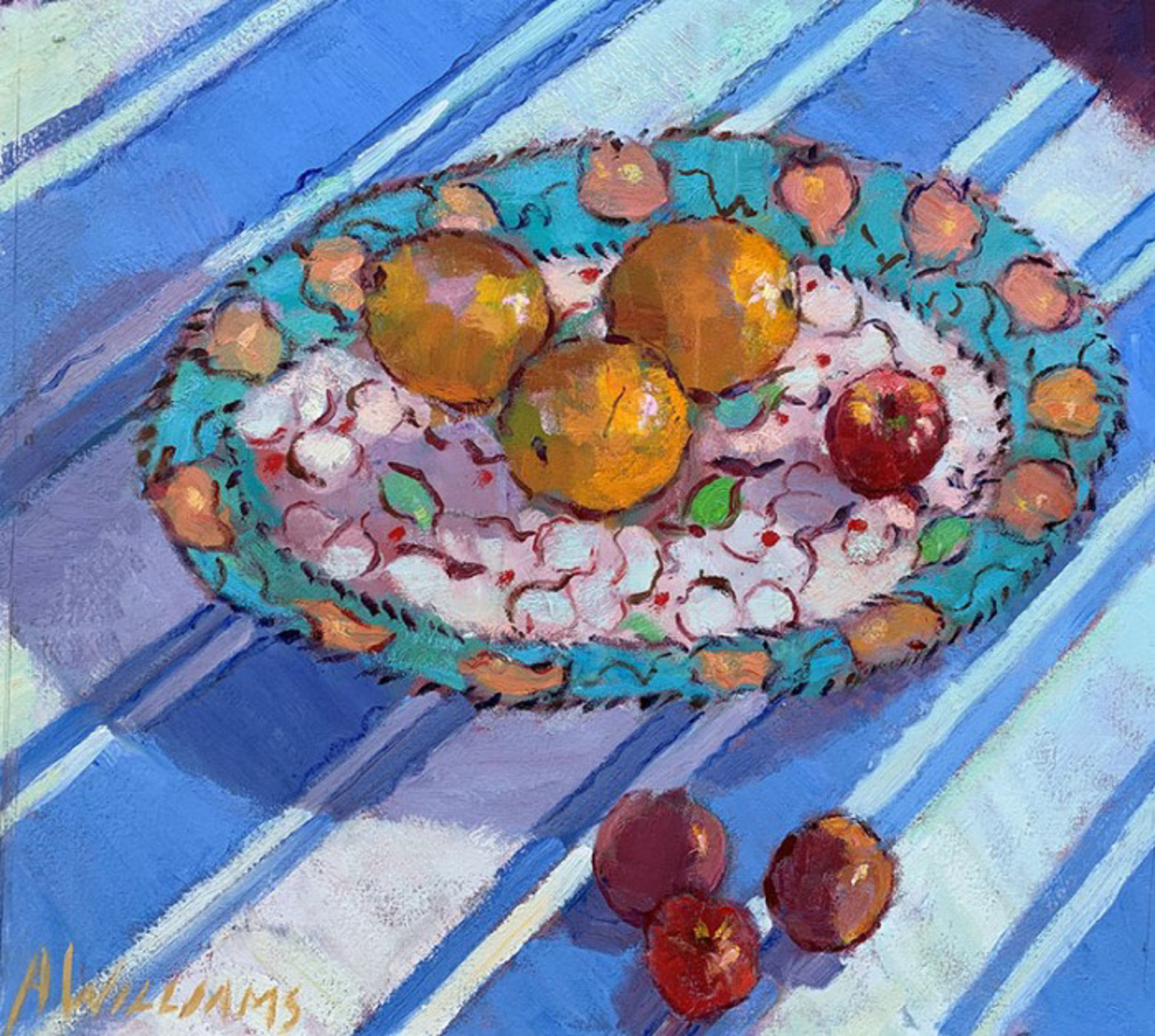 Juanita's Platter by Alice Williams