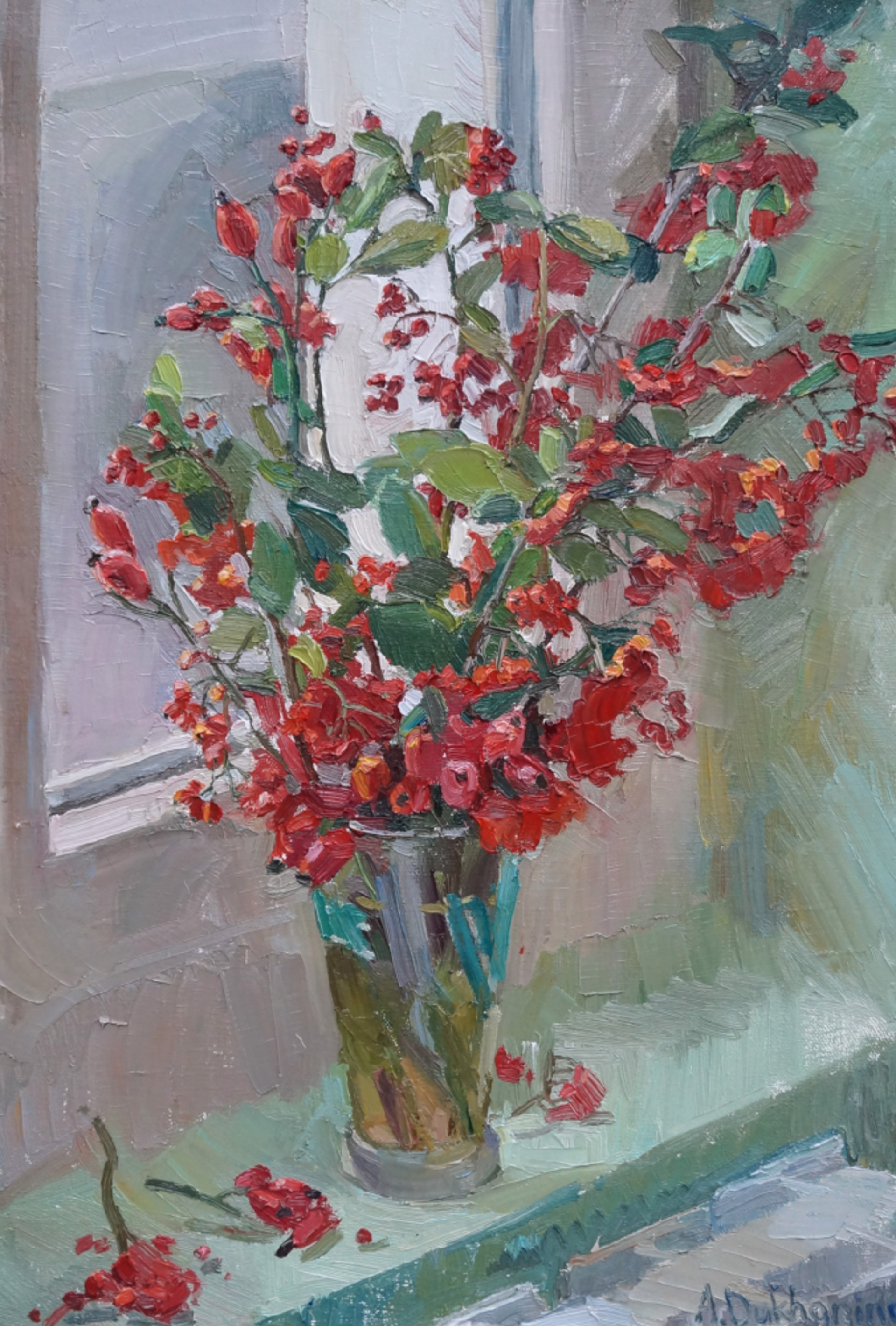 Winter Berries by Anastasia Dukhanina