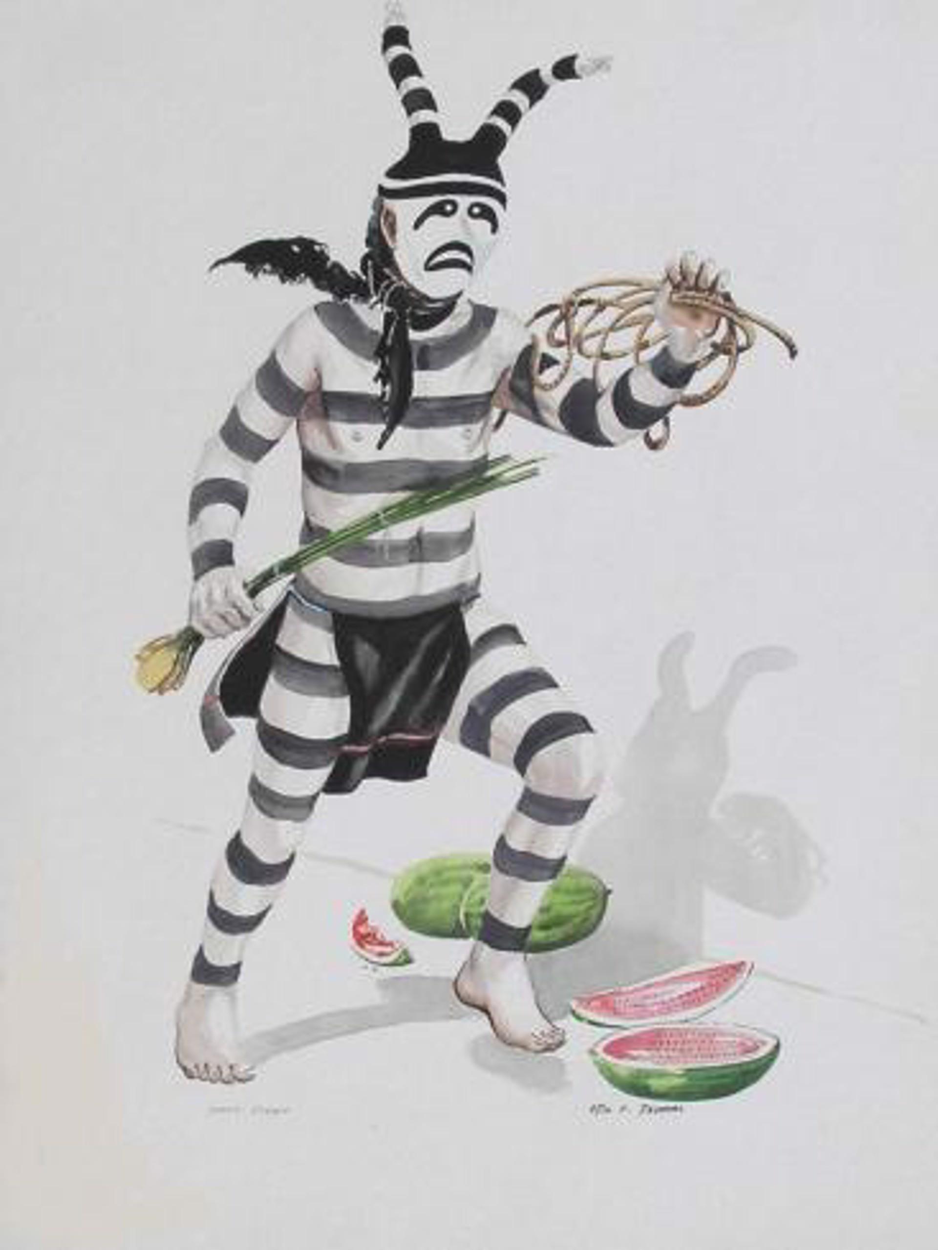 Hano - Clown by Otis Thomas