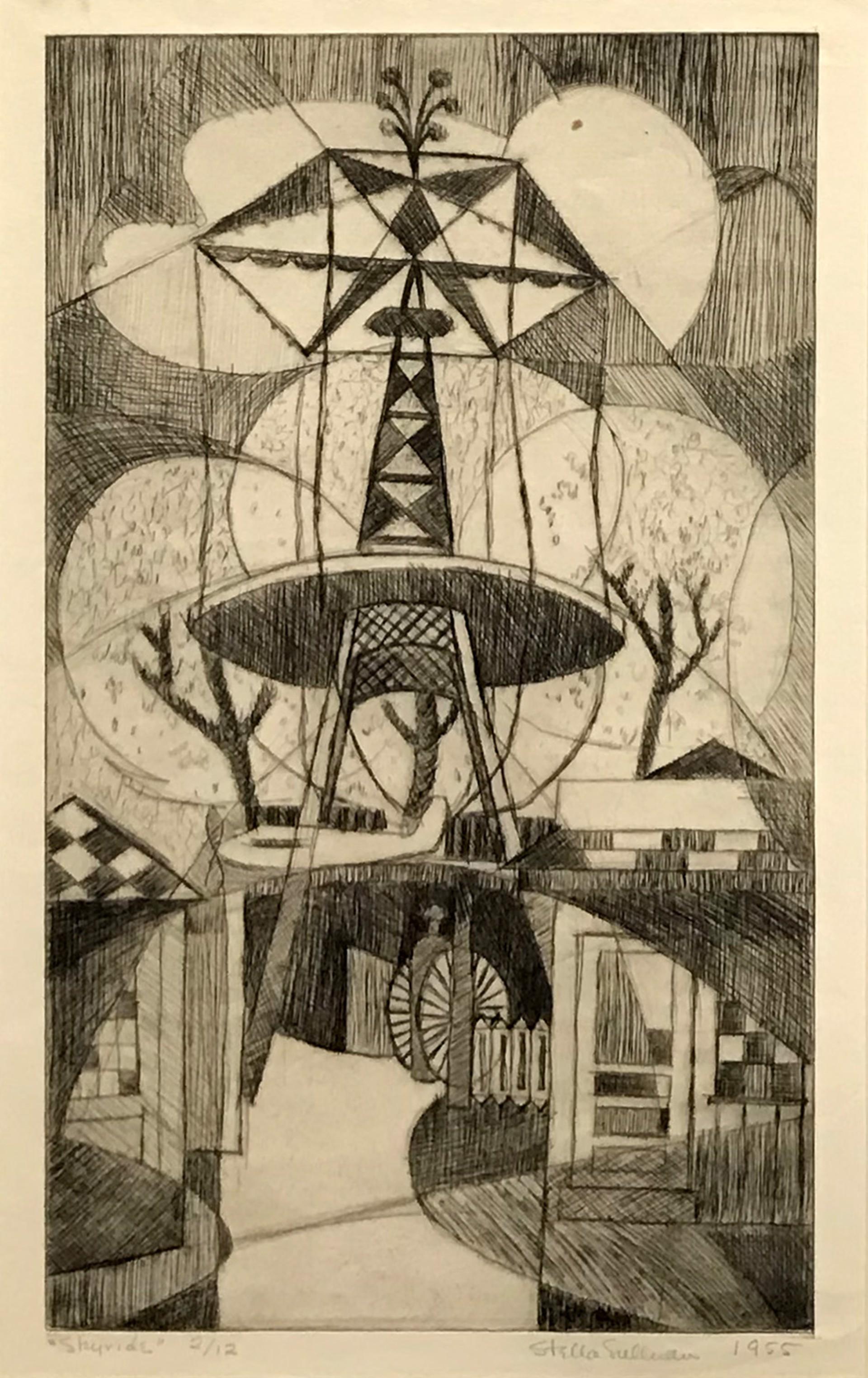 Skyride by Stella Sullivan Prints