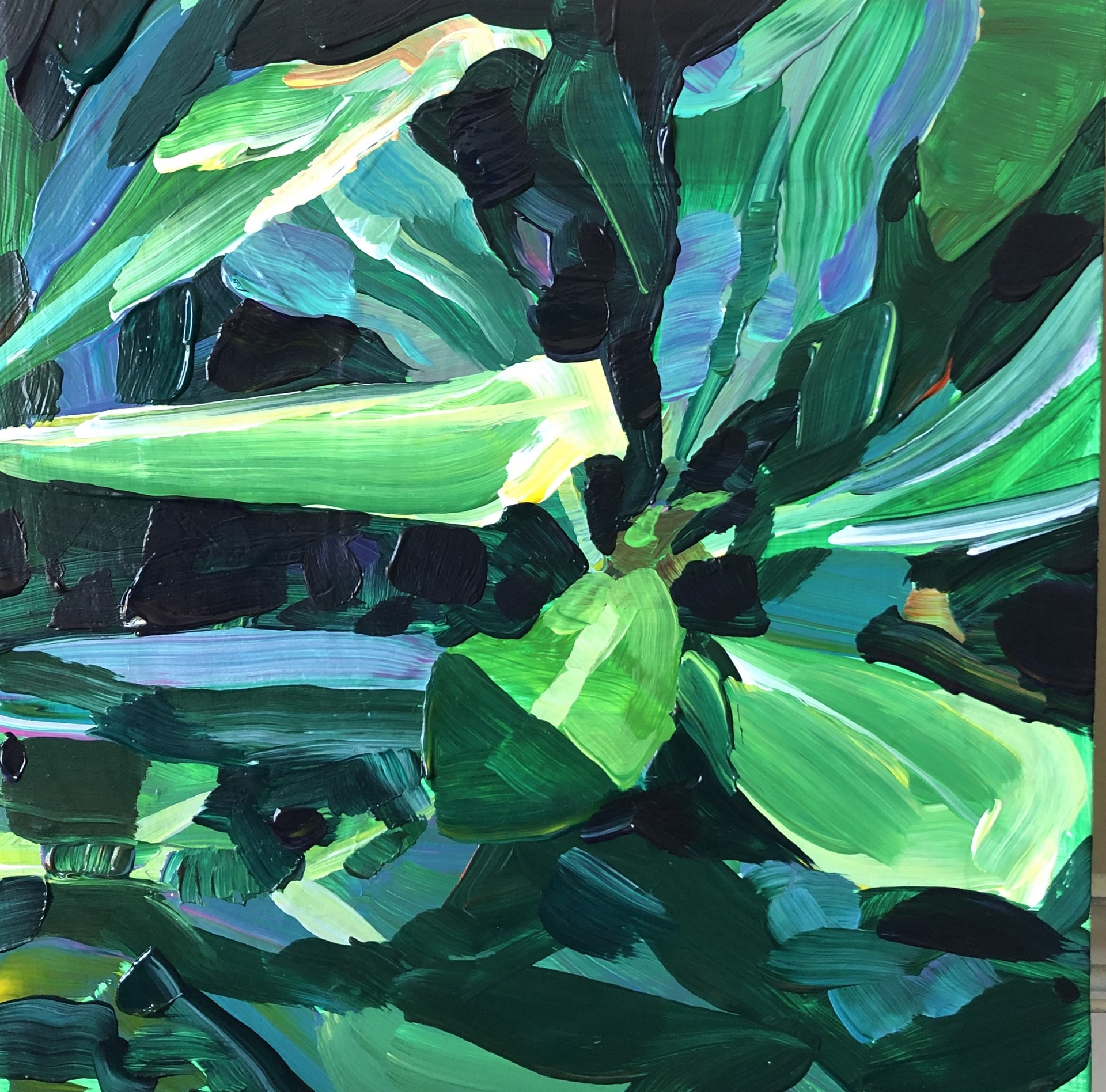 Full grown green by Annalisa Fink