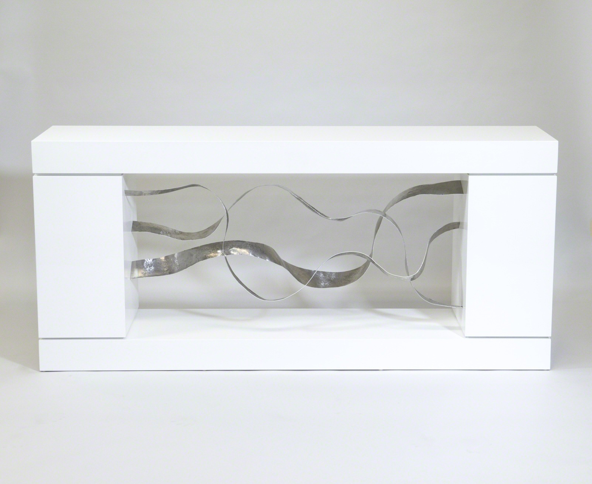 """Waves"" Cabinet-console by Jacques Jarrige"