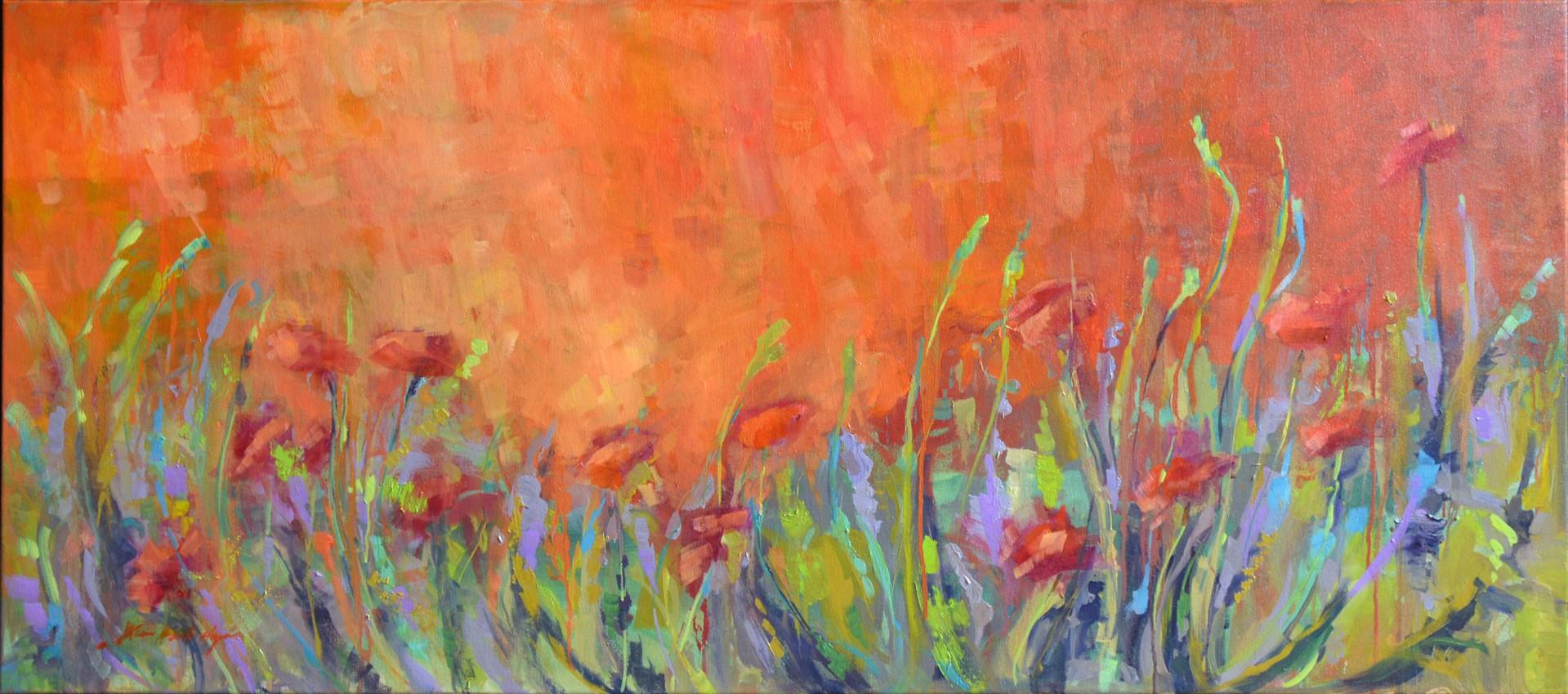 Forever Poppies by Karen Hewitt Hagan