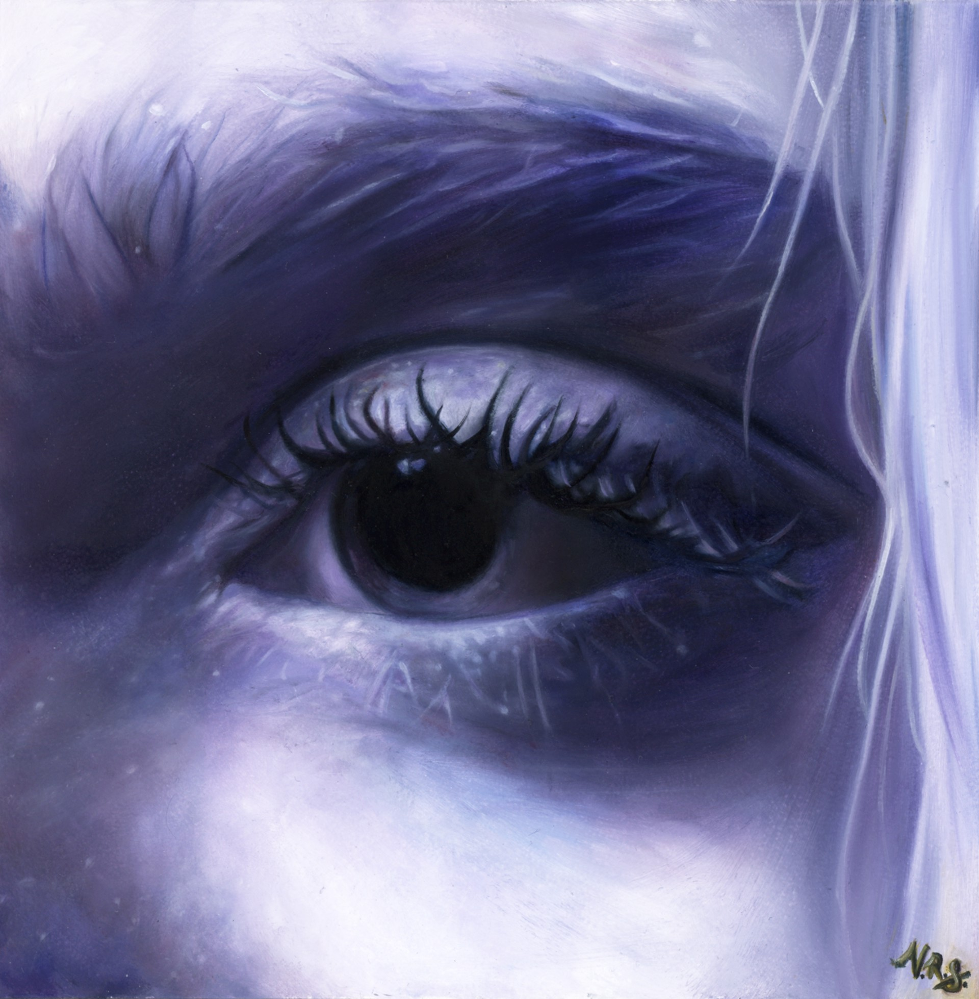 Violet Eye by Victoria Steel