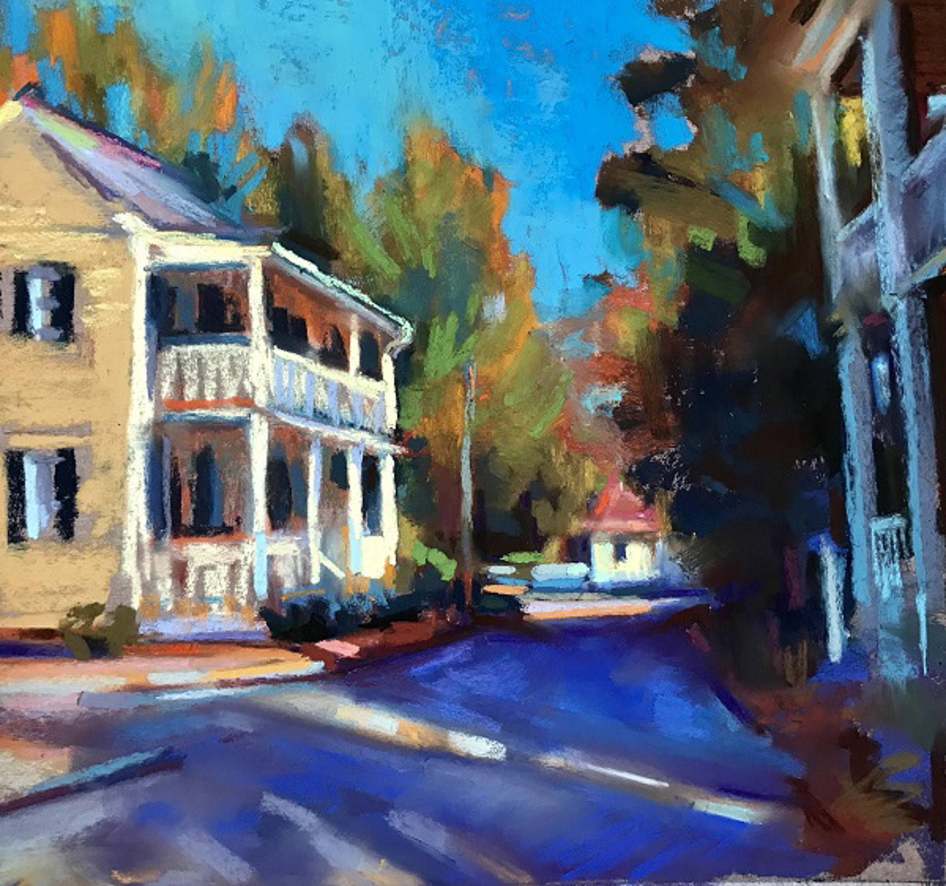 Yellow House by Susan Mayfield