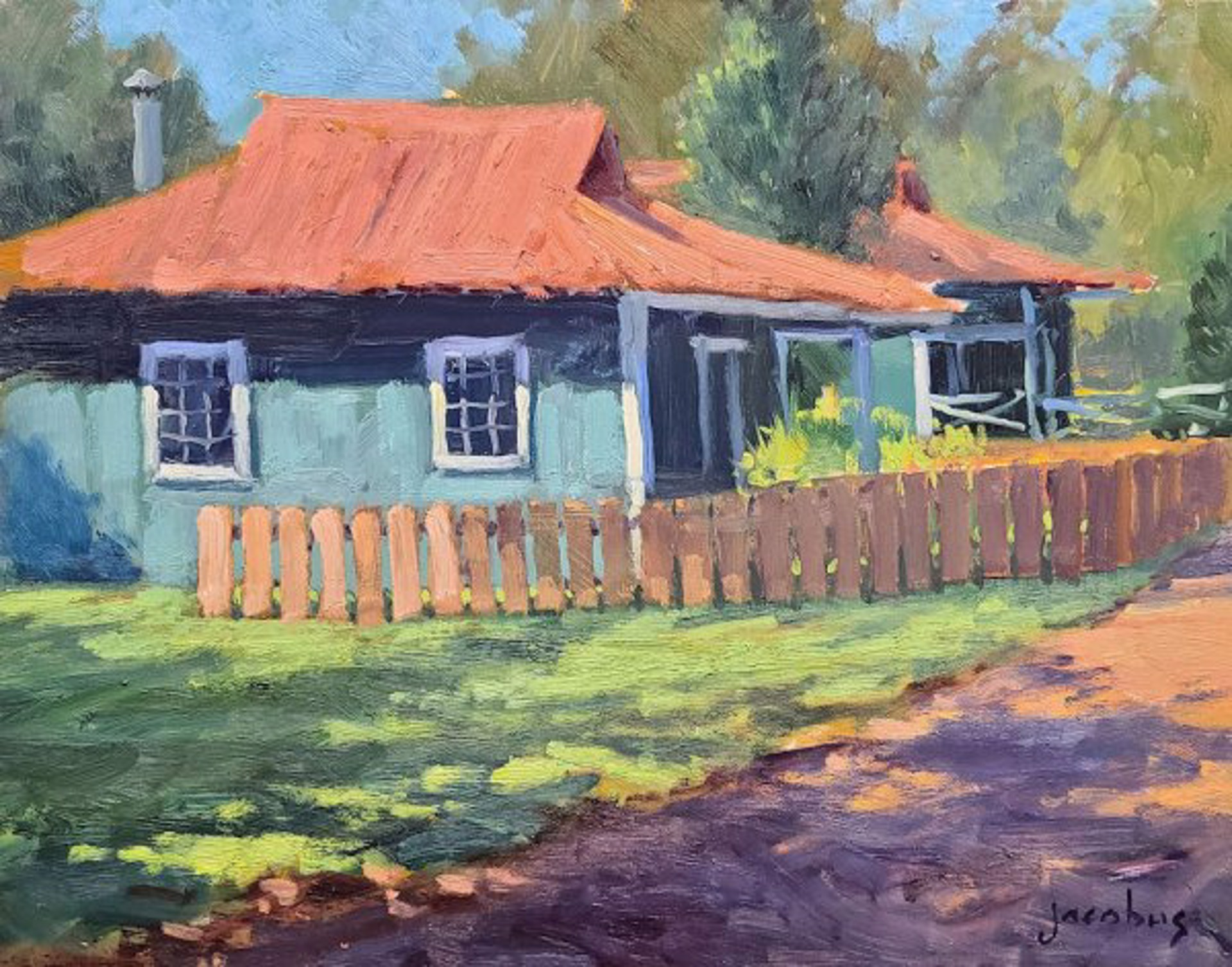 Classic Hawaii Cottages by Jacobus Baas