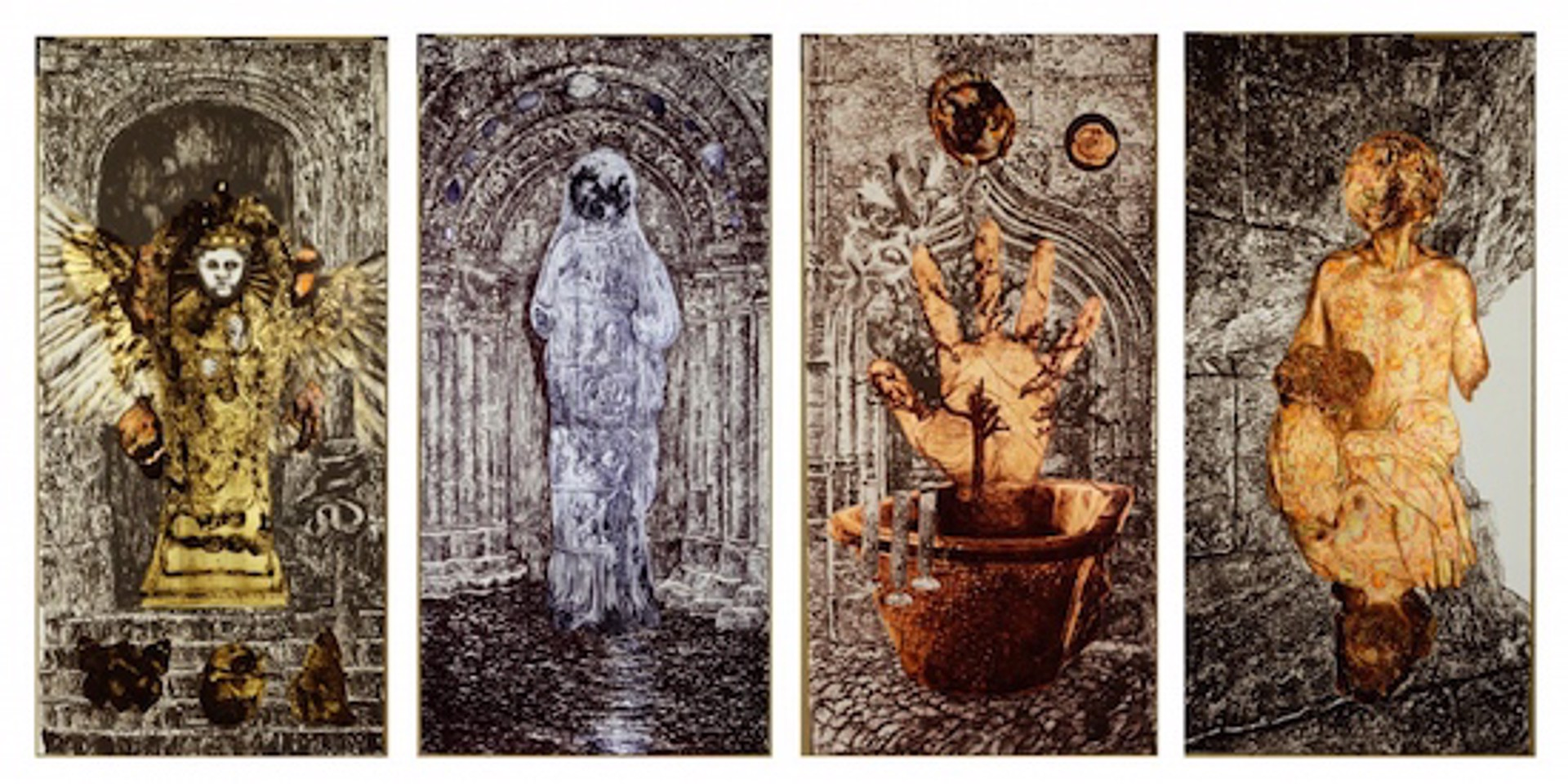 Alchemical Doors for C.A. Meier III (The Golden Child) by Ann McCoy