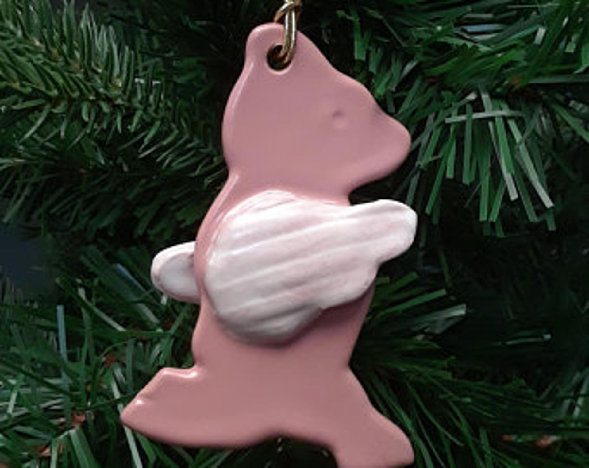 Hoofin' It ornament by Lin Barnhardt