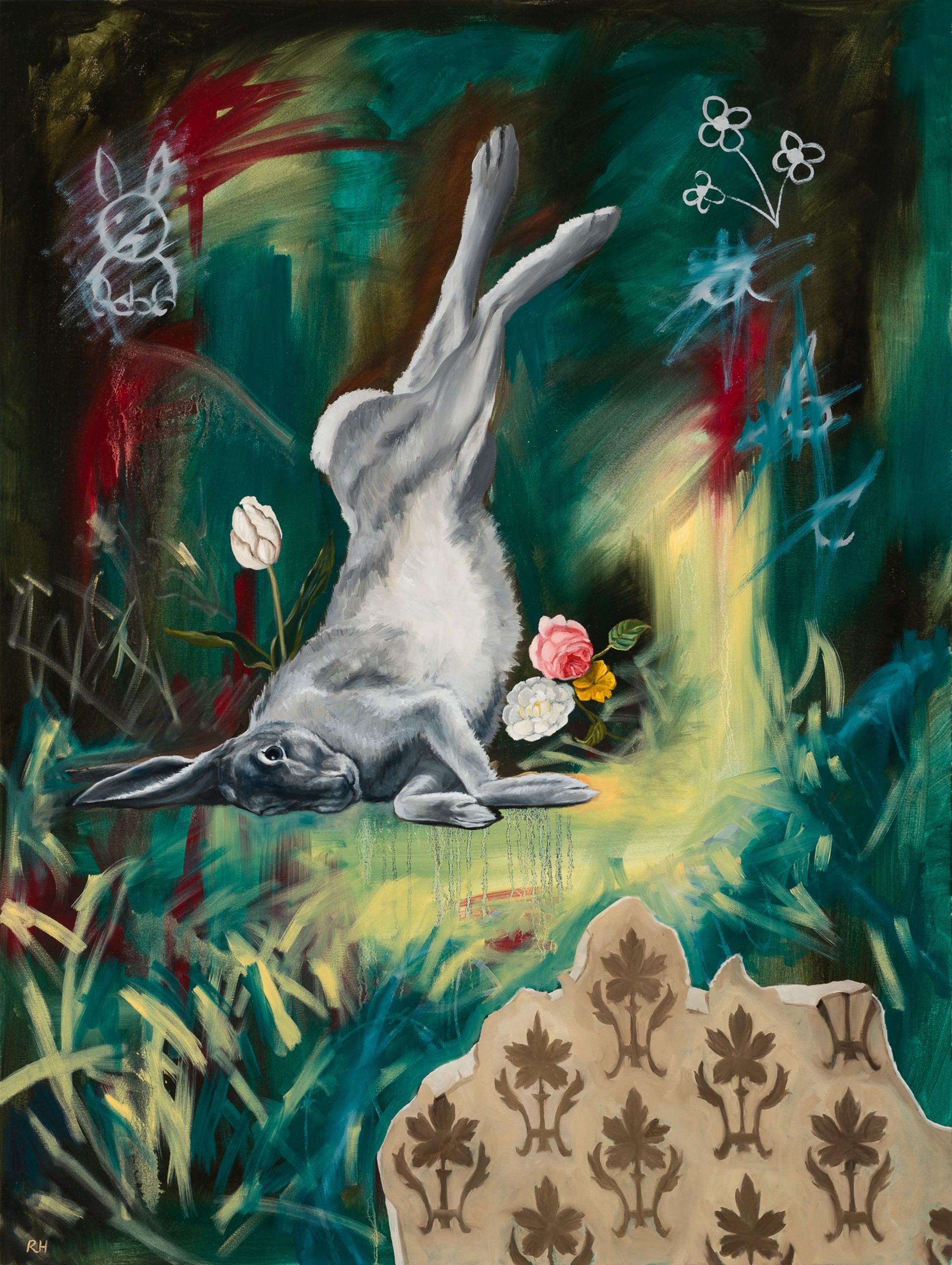Upside Down in Wonderland by Robin Hextrum