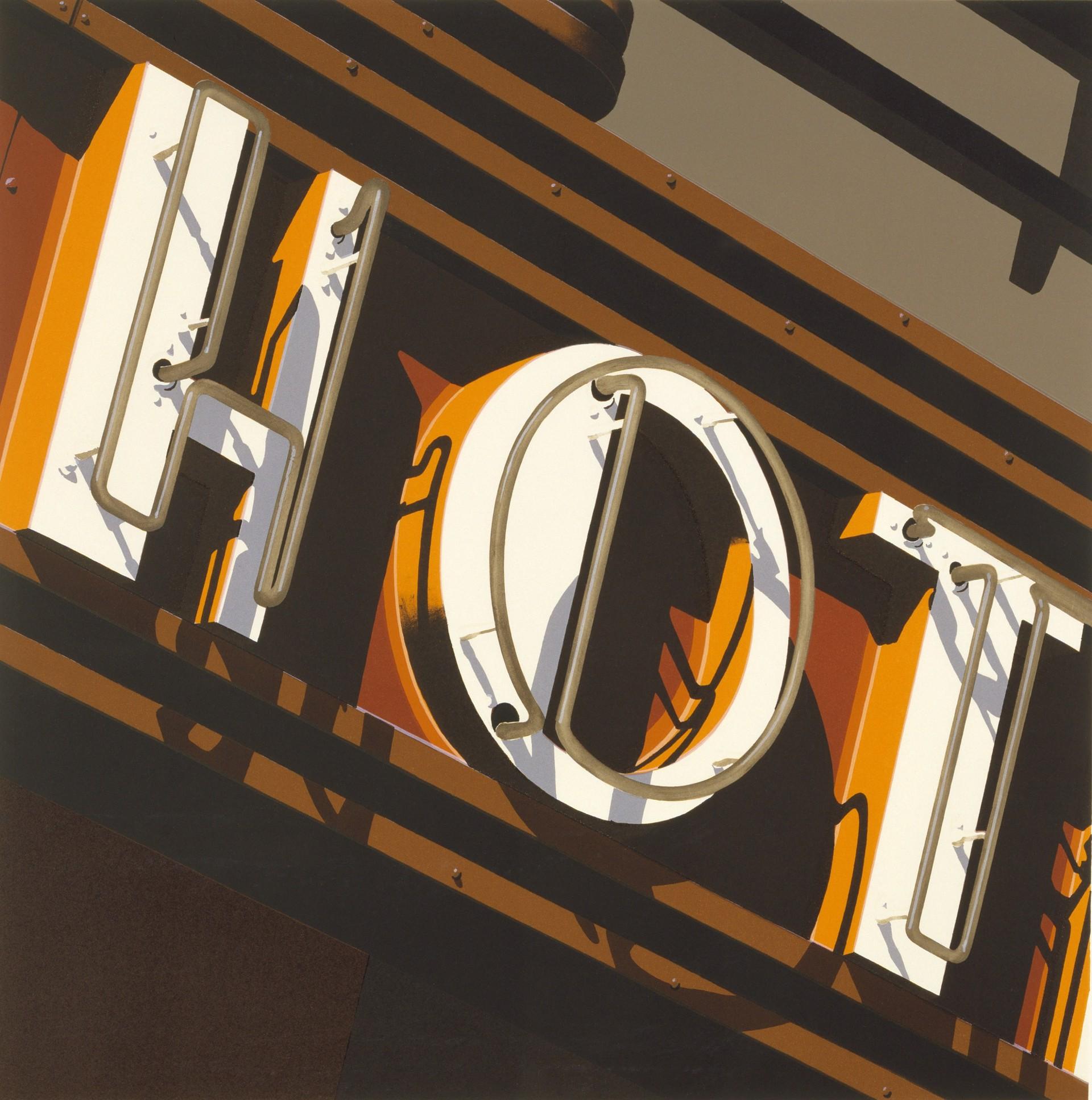 HOT by Robert Cottingham