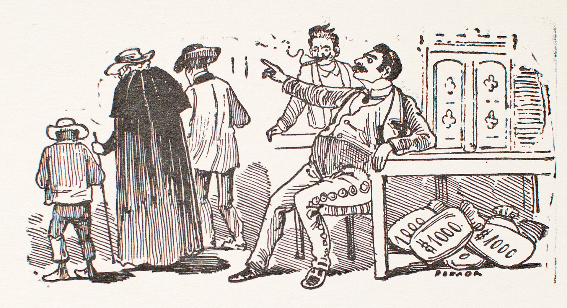 El Rico Hacendado by José Guadalupe Posada (1852 - 1913)
