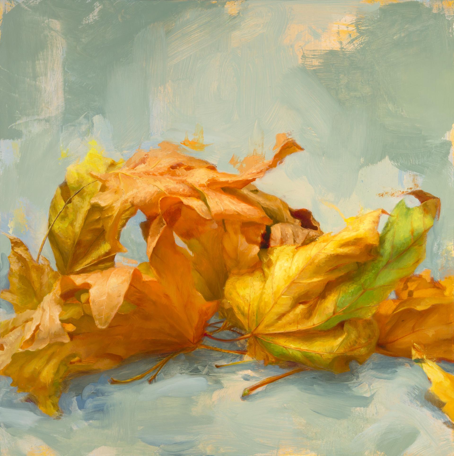 Leaves II by Elizabeth Zanzinger
