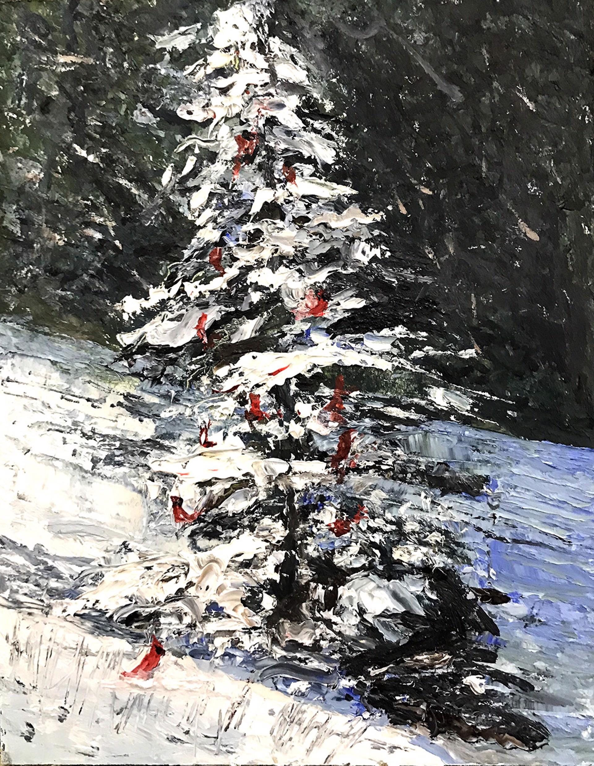A Cardinal Christmas by Frank Baggett