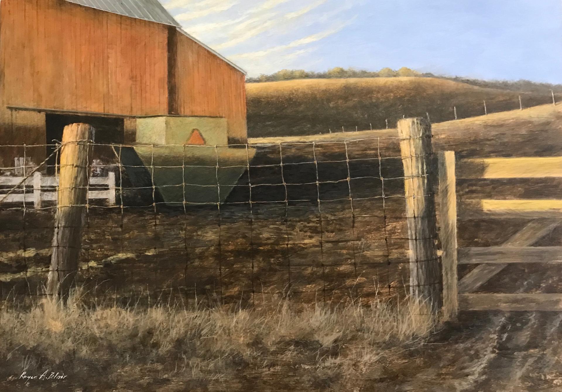 Sunrise on Spring Creek Farm by Roger Blair