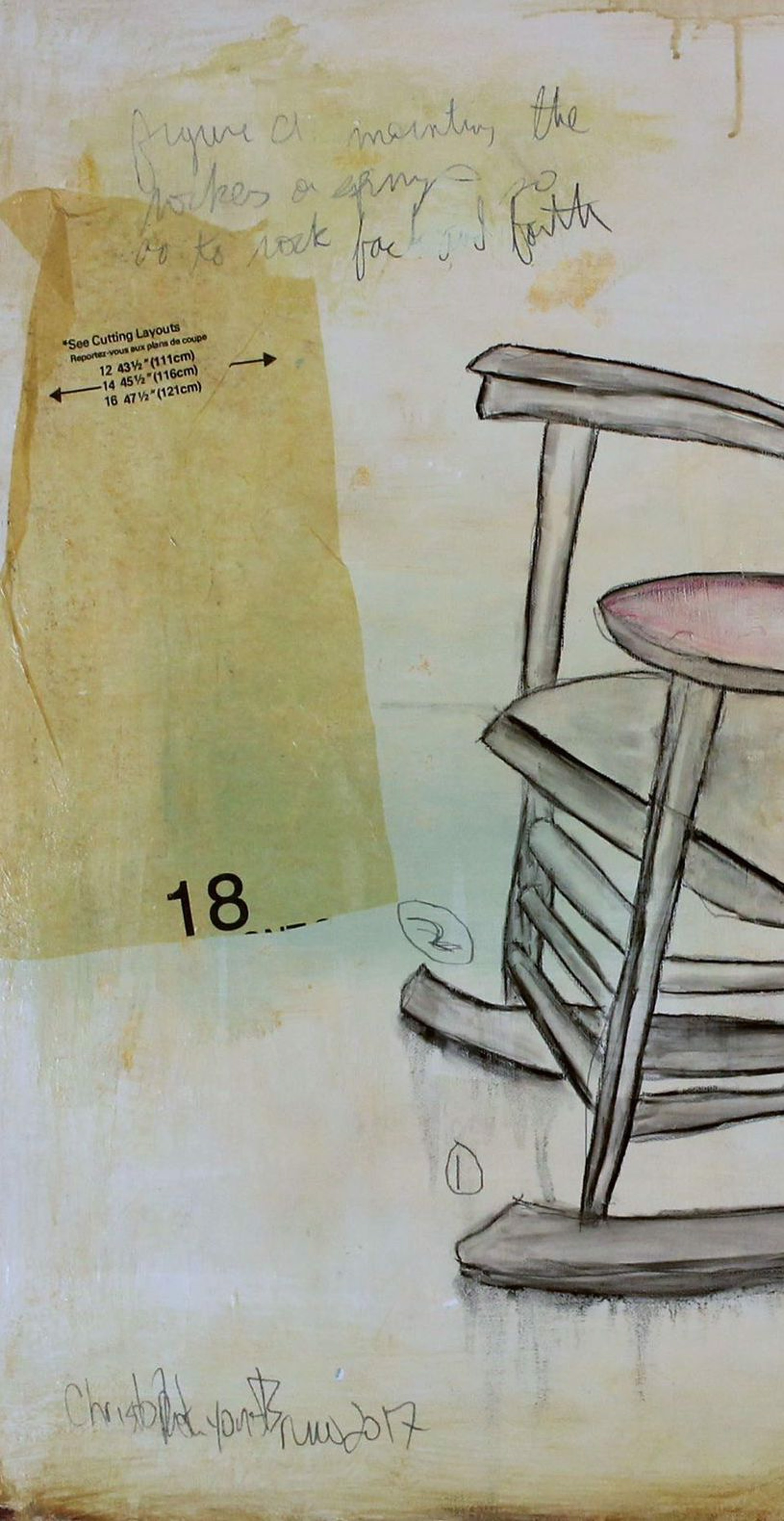 Rocking Chair by Chris Bruno