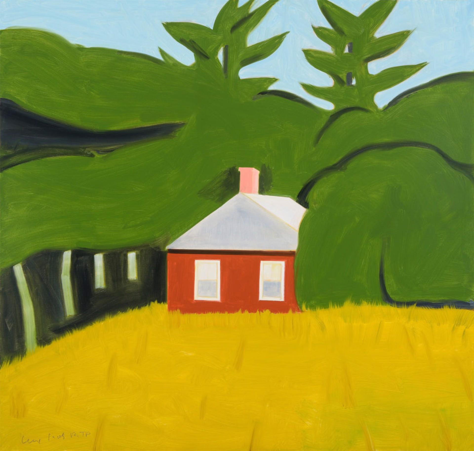Red House by Alex Katz
