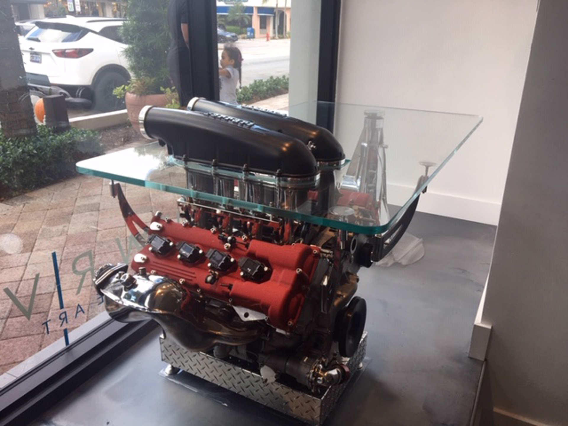 Ferrari 430 Challenge Desk by Tom Bates