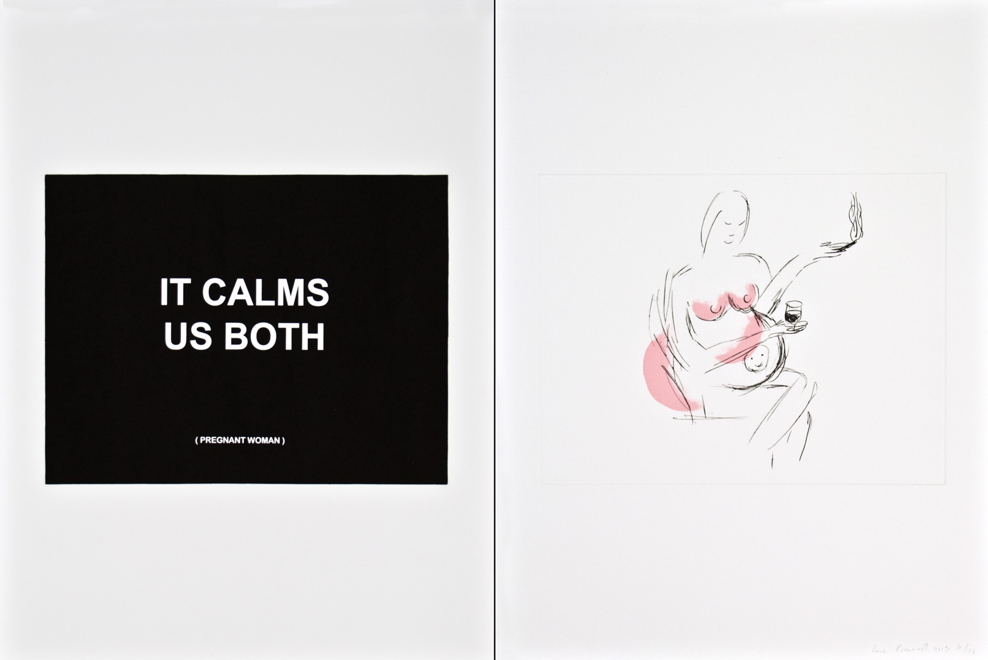 It Calms Us Both 1 by Laure Prouvost