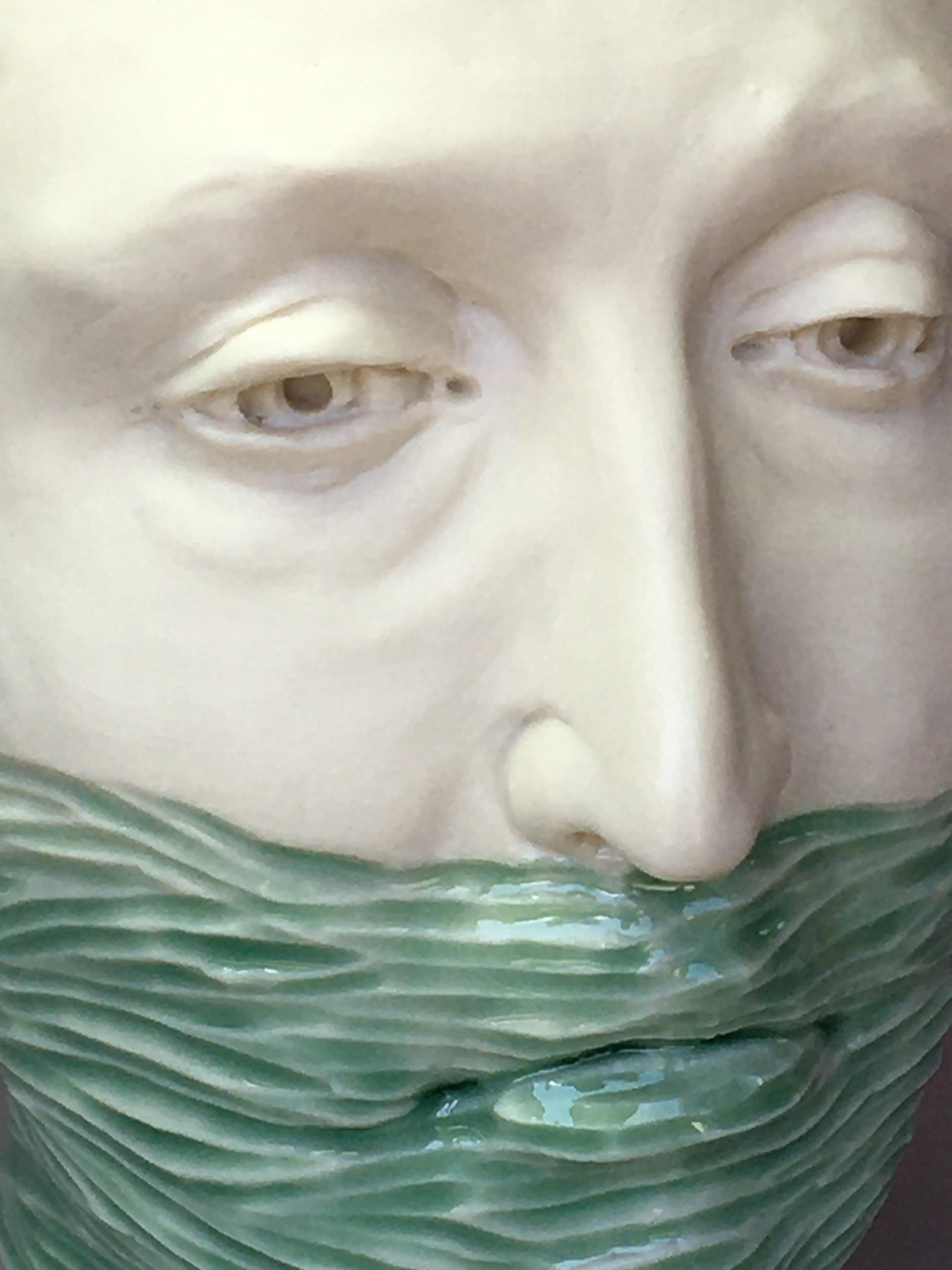 """Water Level Vase, Eyes Open"" by Adrian Arleo"