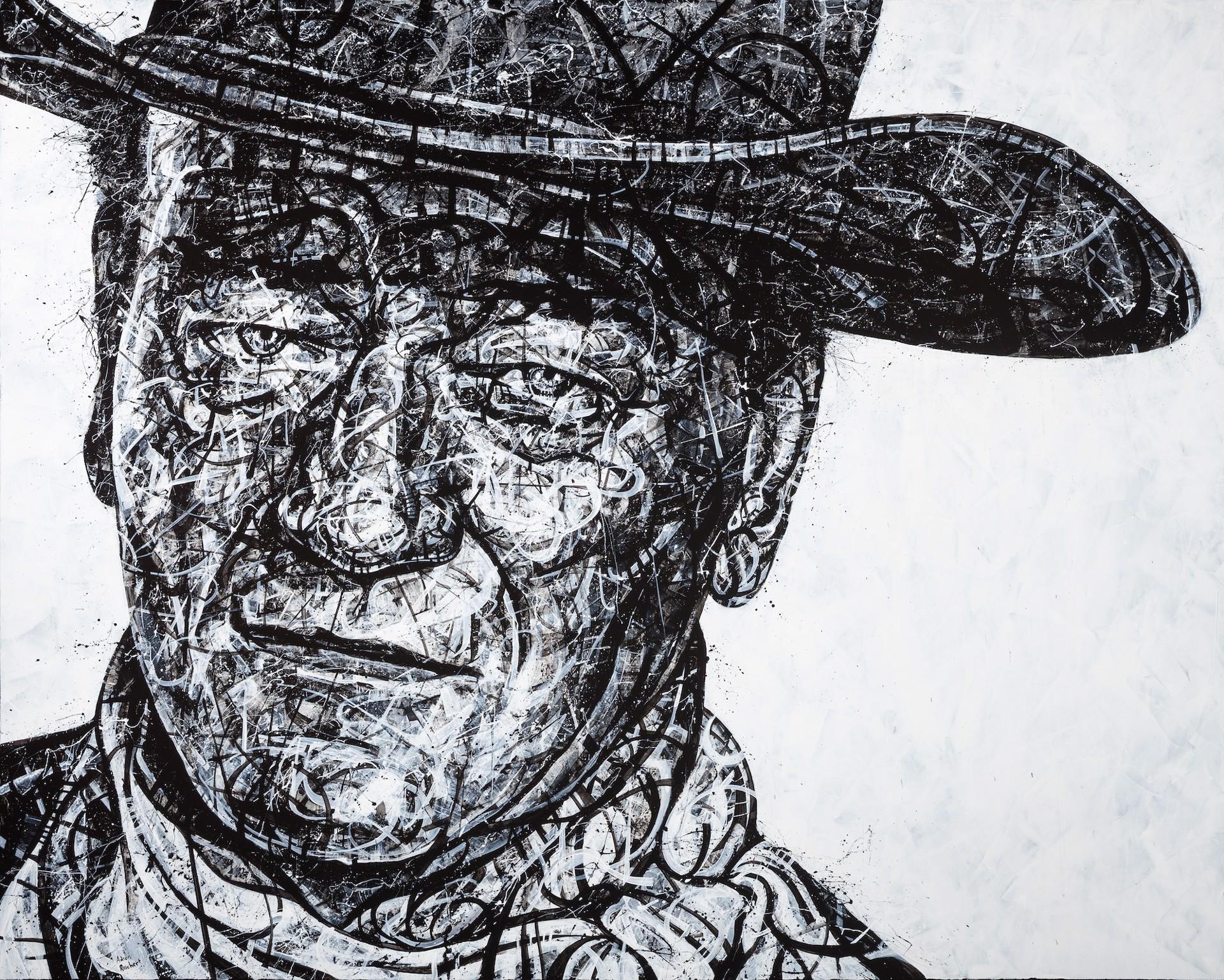 The Hell I Won't, John Wayne by Aaron Reichert