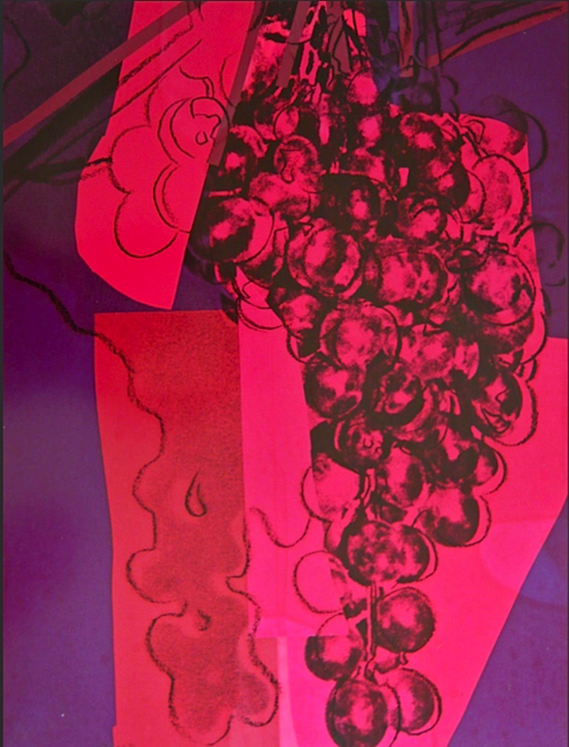 Grapes by Andy Warhol