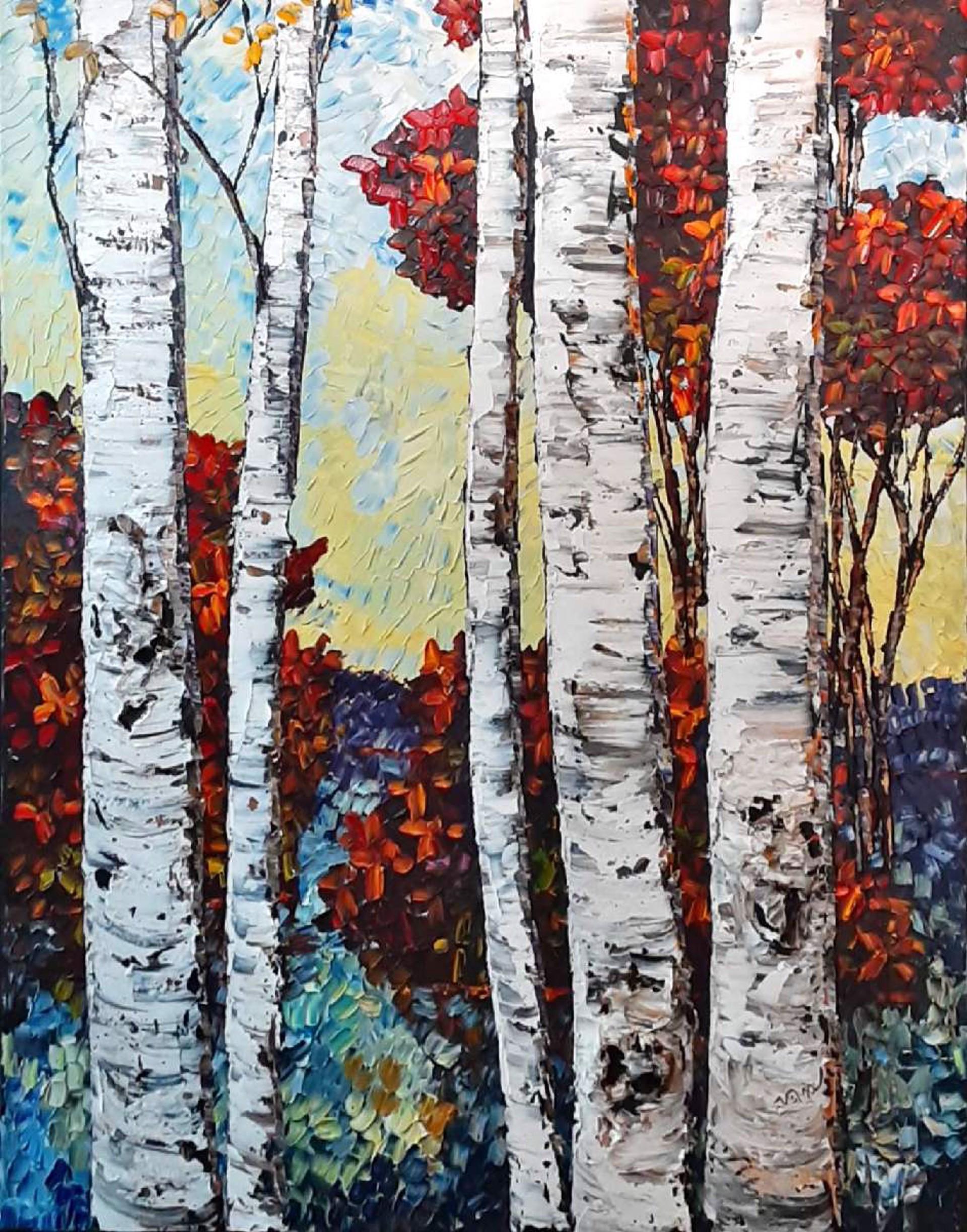Fall Into Autumn  by Maya Eventov