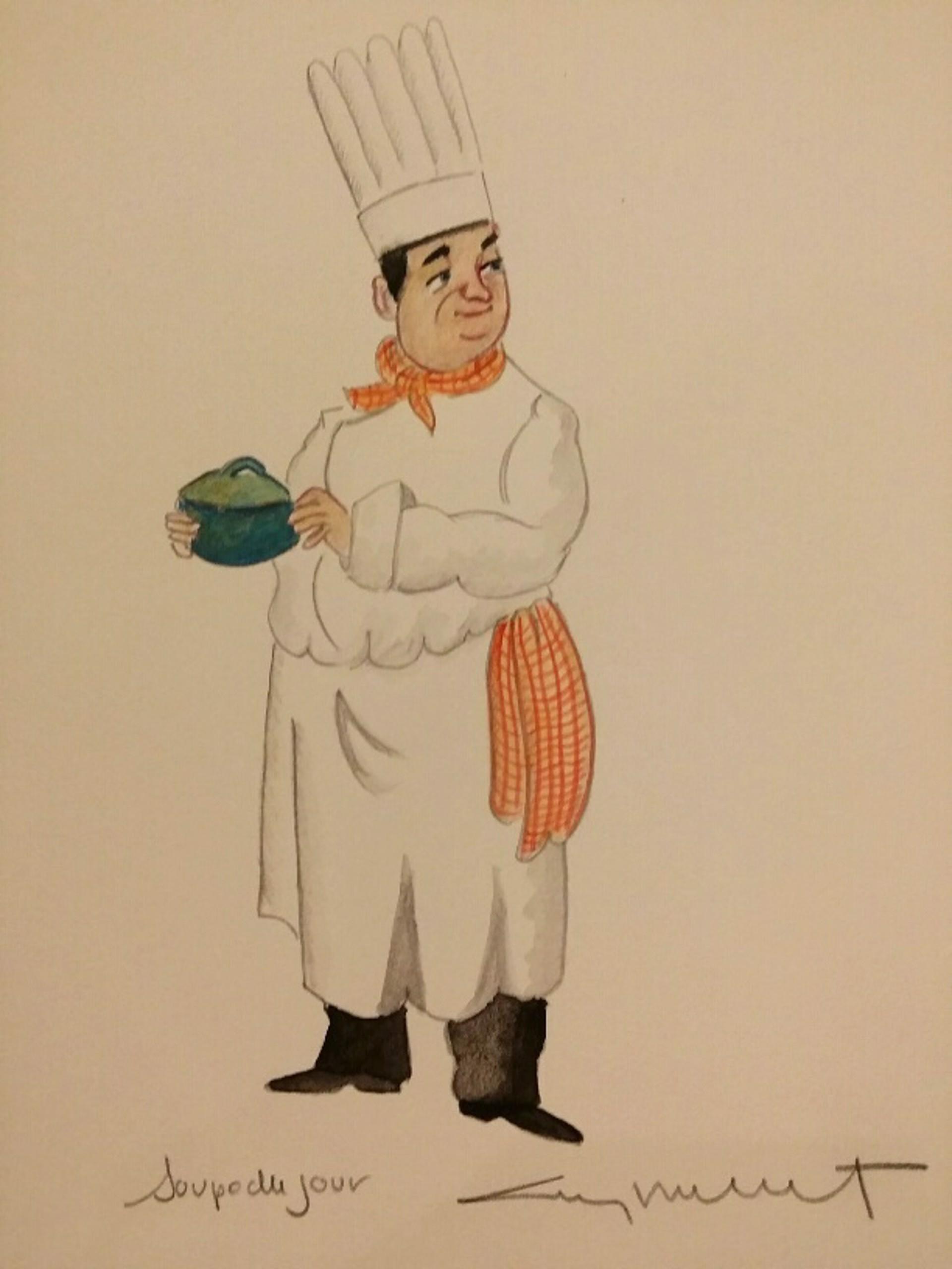 Soup Du Jour by Guy Buffet