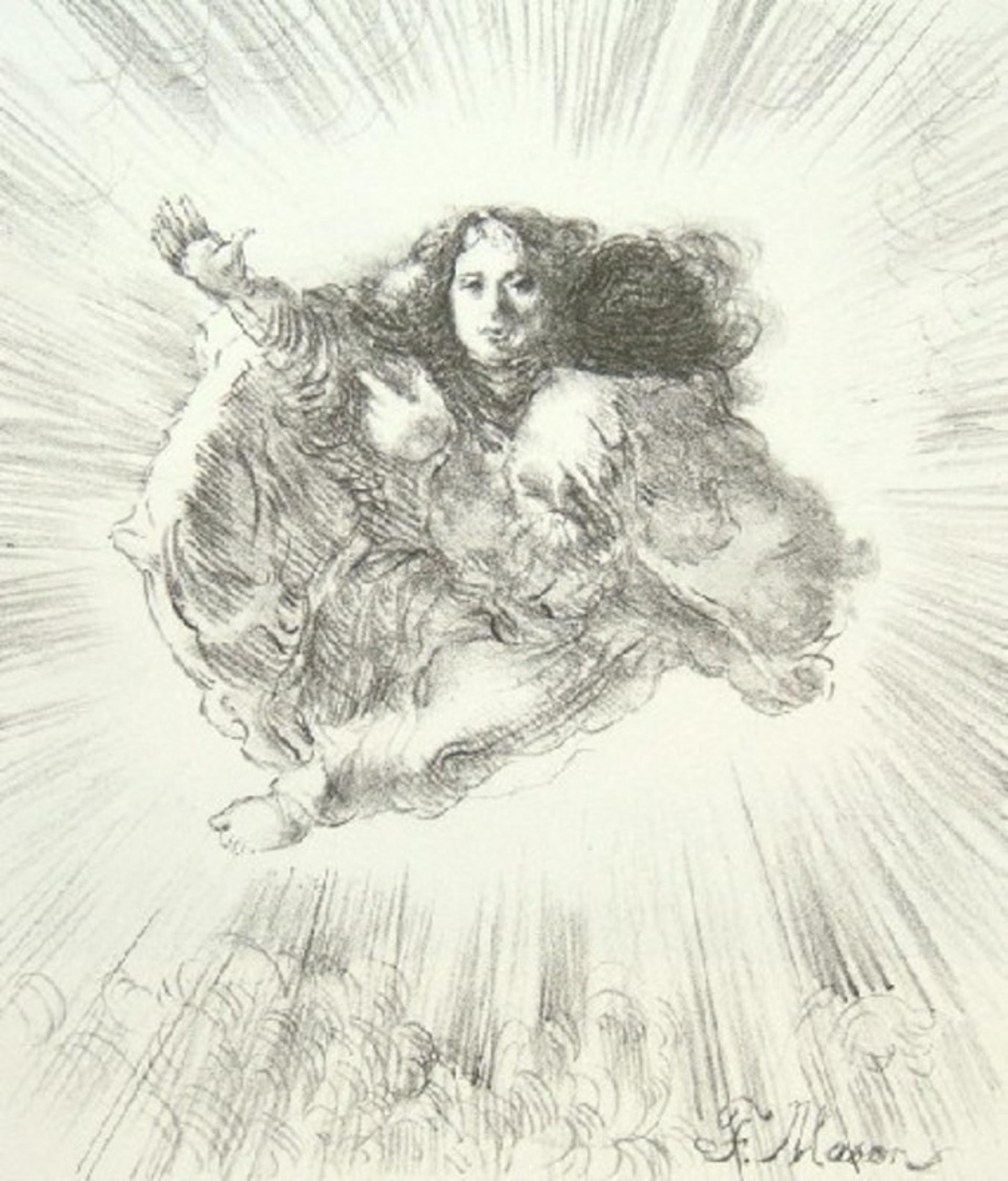 The Angel Gabriel by Frank Mason (1921 - 2009)