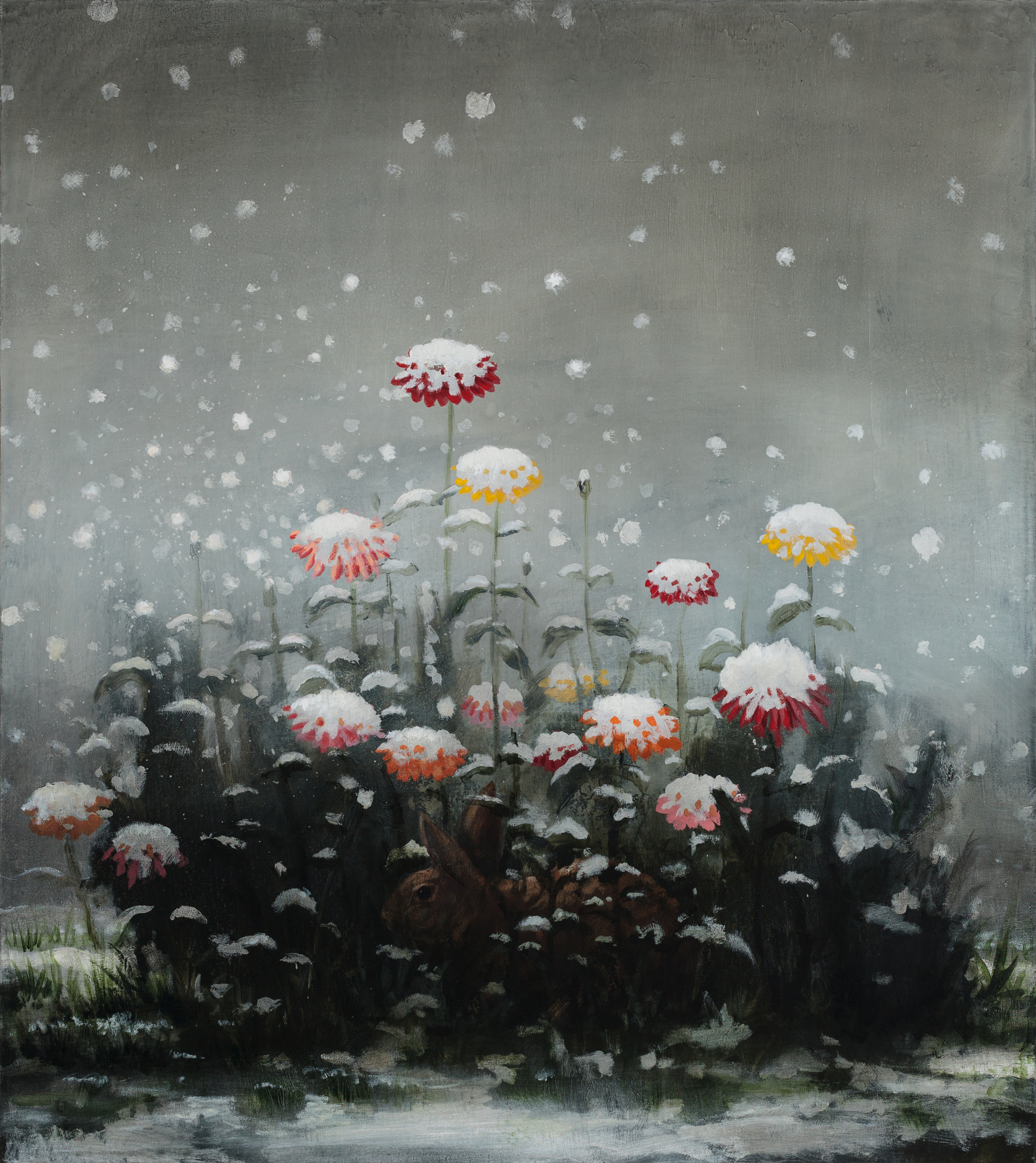 The First Snow by Kevin Sloan