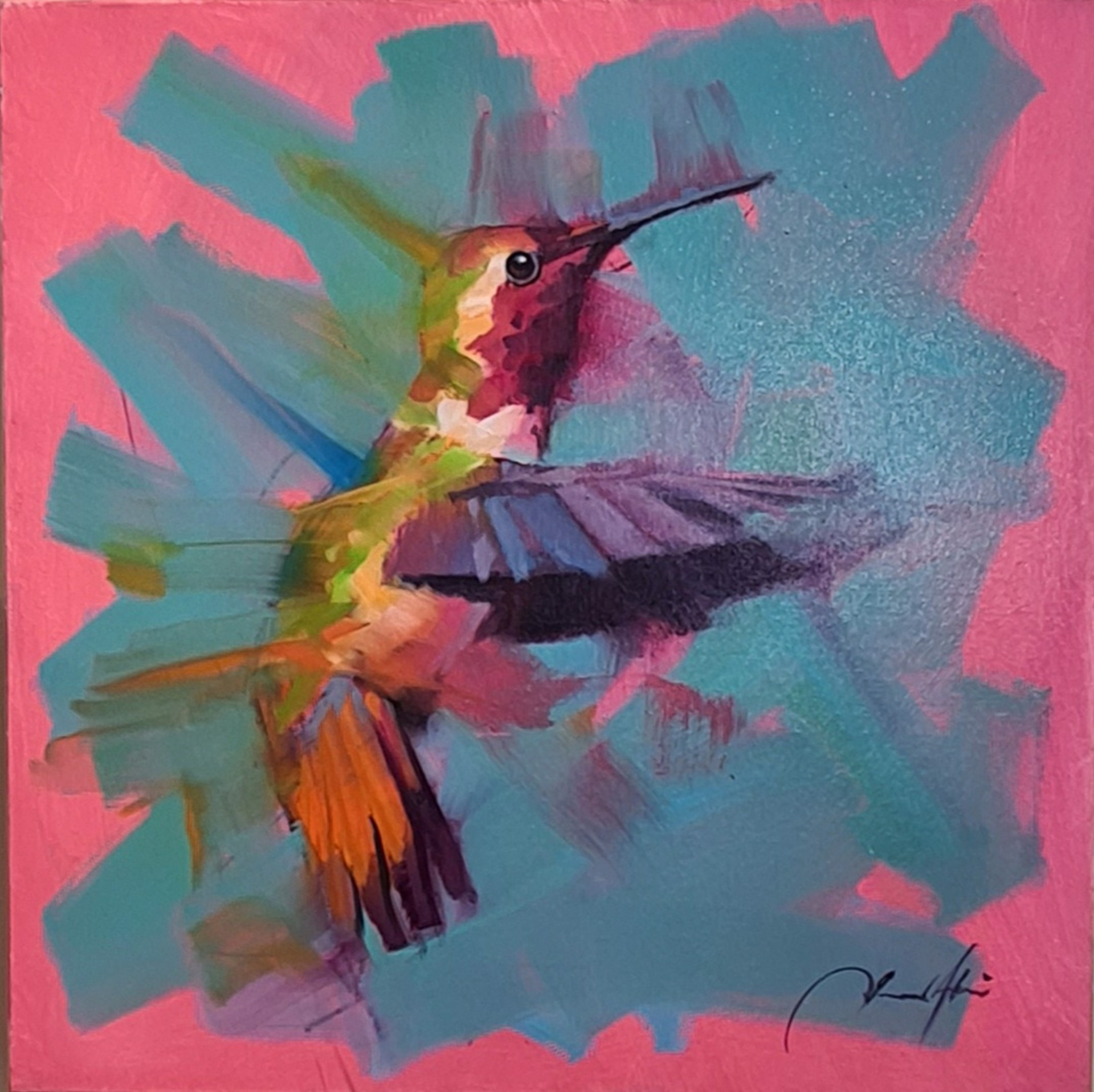 Hummingbird XVIII by Jamel Akib