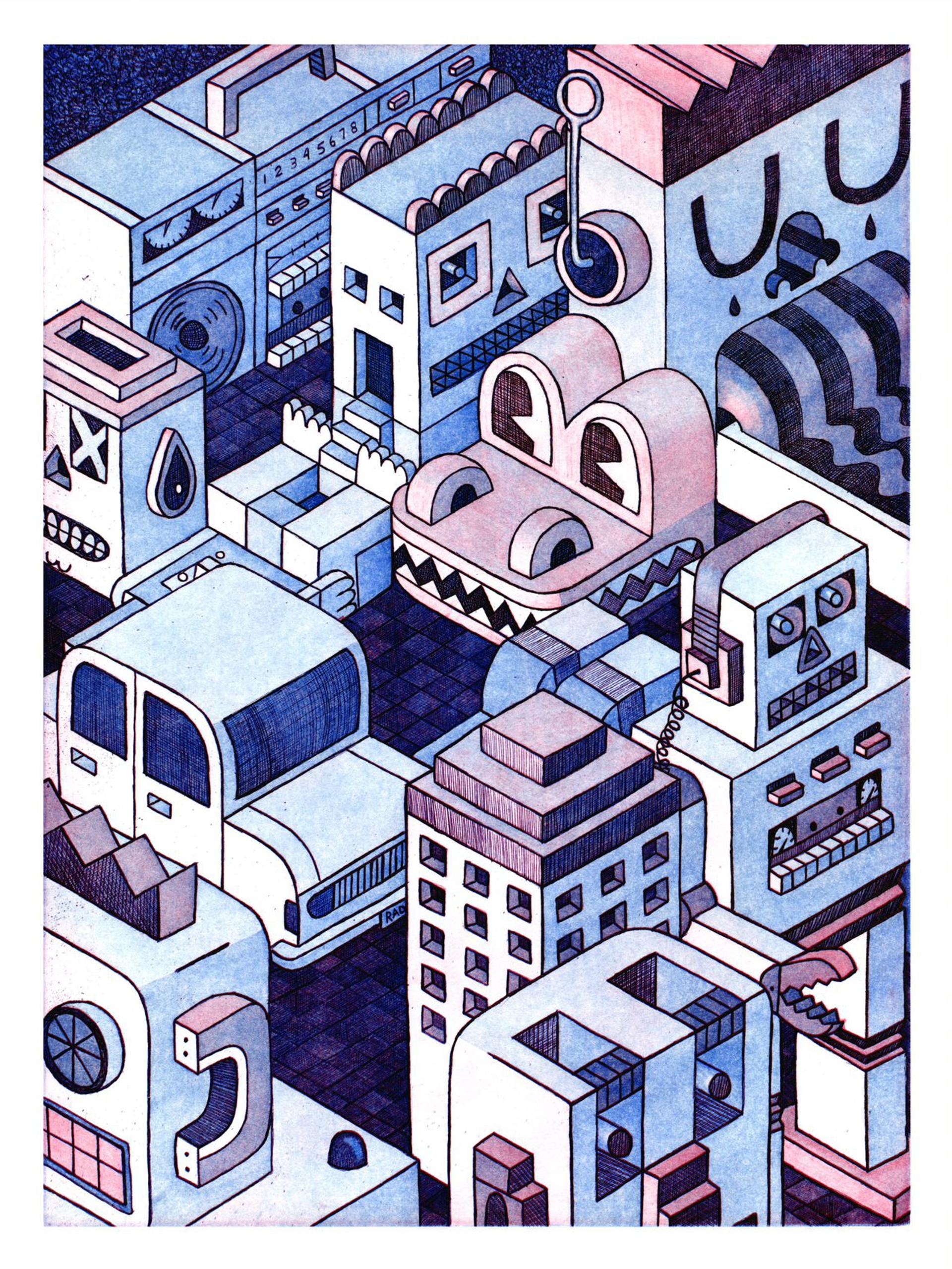 Domestic Sprawl by Chadwick Tolley
