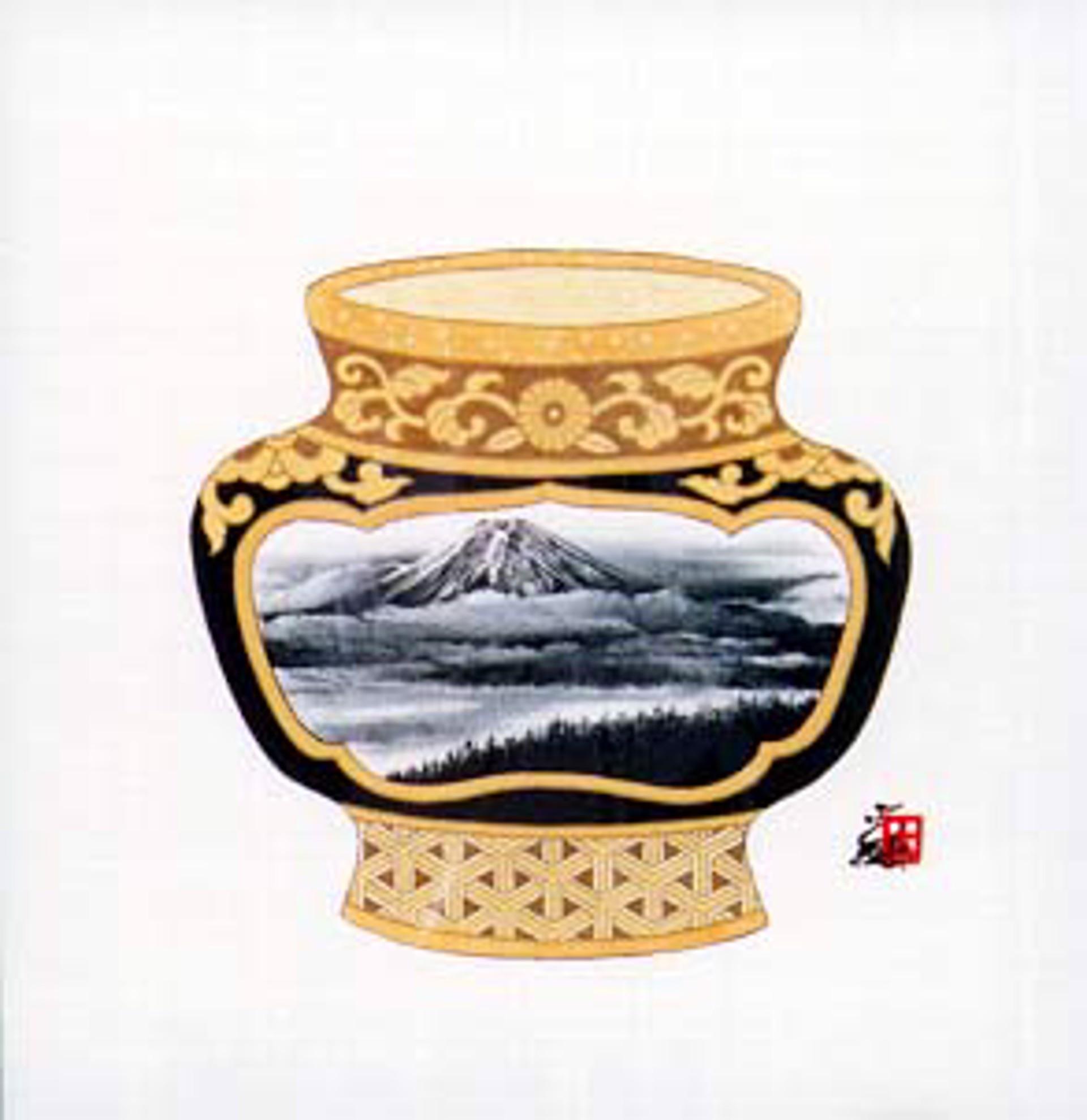 Vase-Mountain by Hisashi Otsuka
