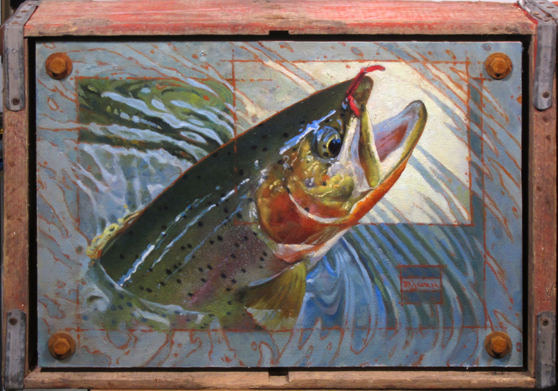 San Juan Trout by Bjorn Thorkelson