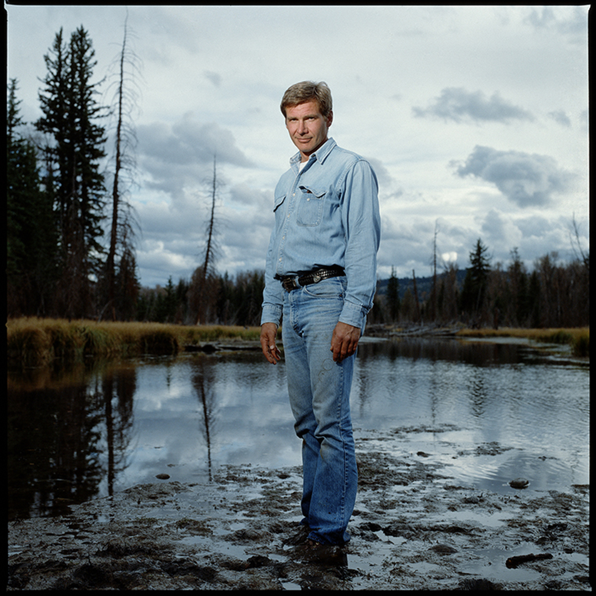 88184 Harrison Ford Mud Color by Timothy White
