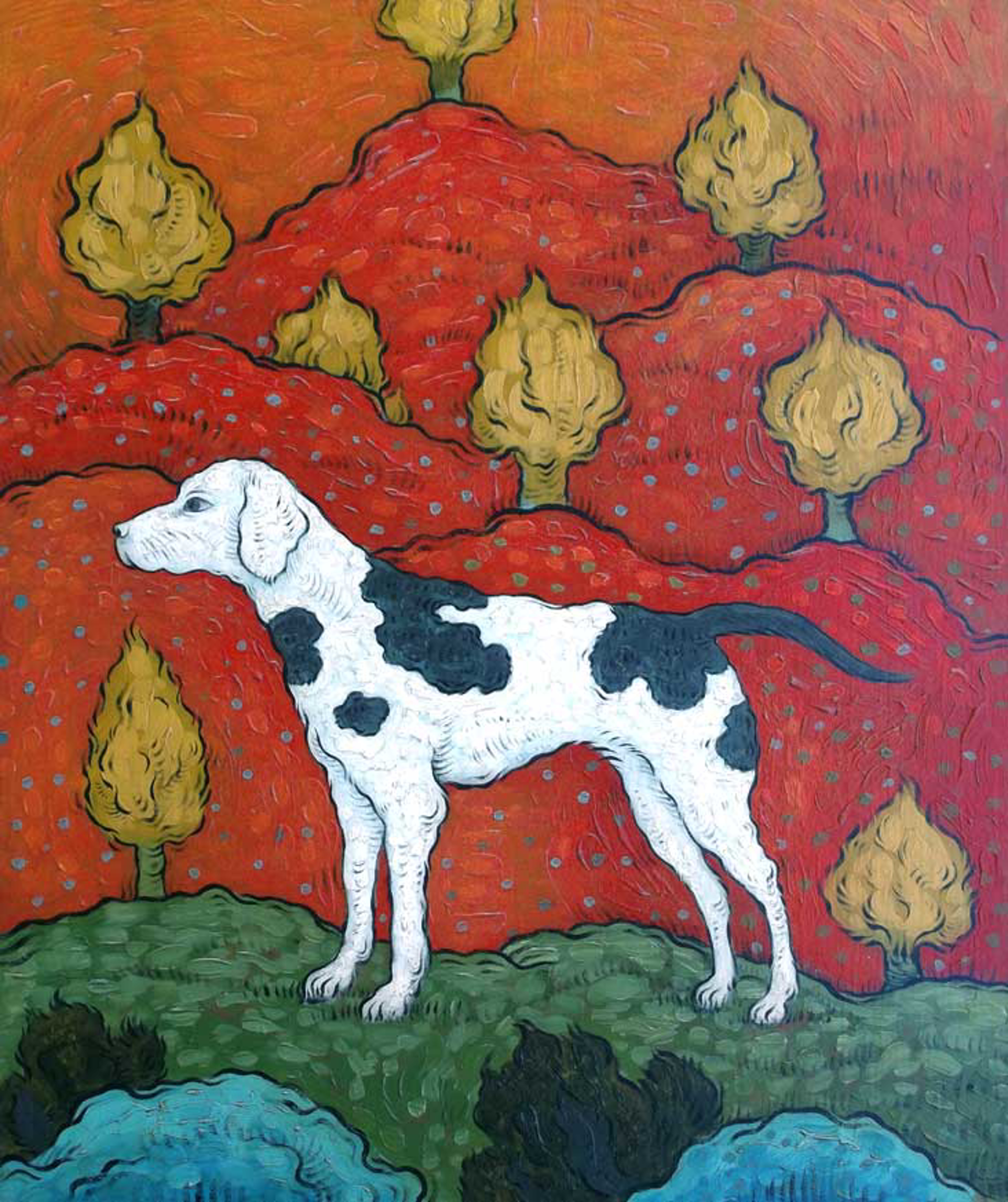 Warm Earth 2 by Mark Briscoe