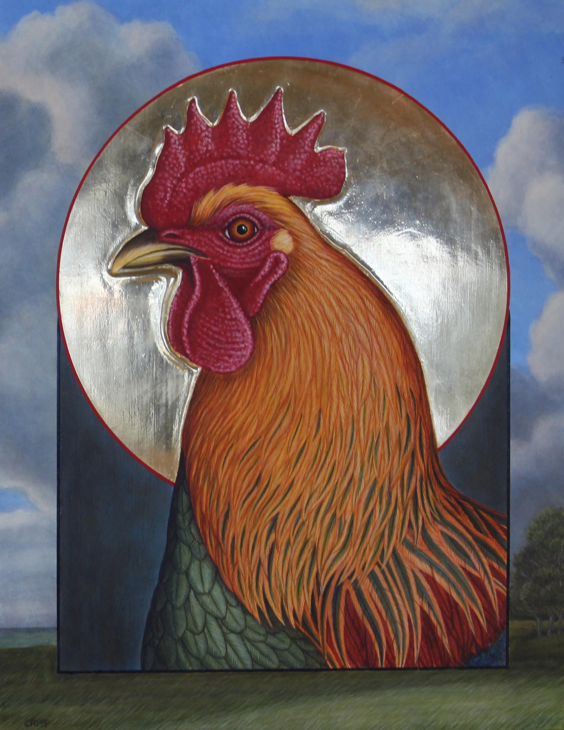 Ruisdal Rooster by Margie Crisp