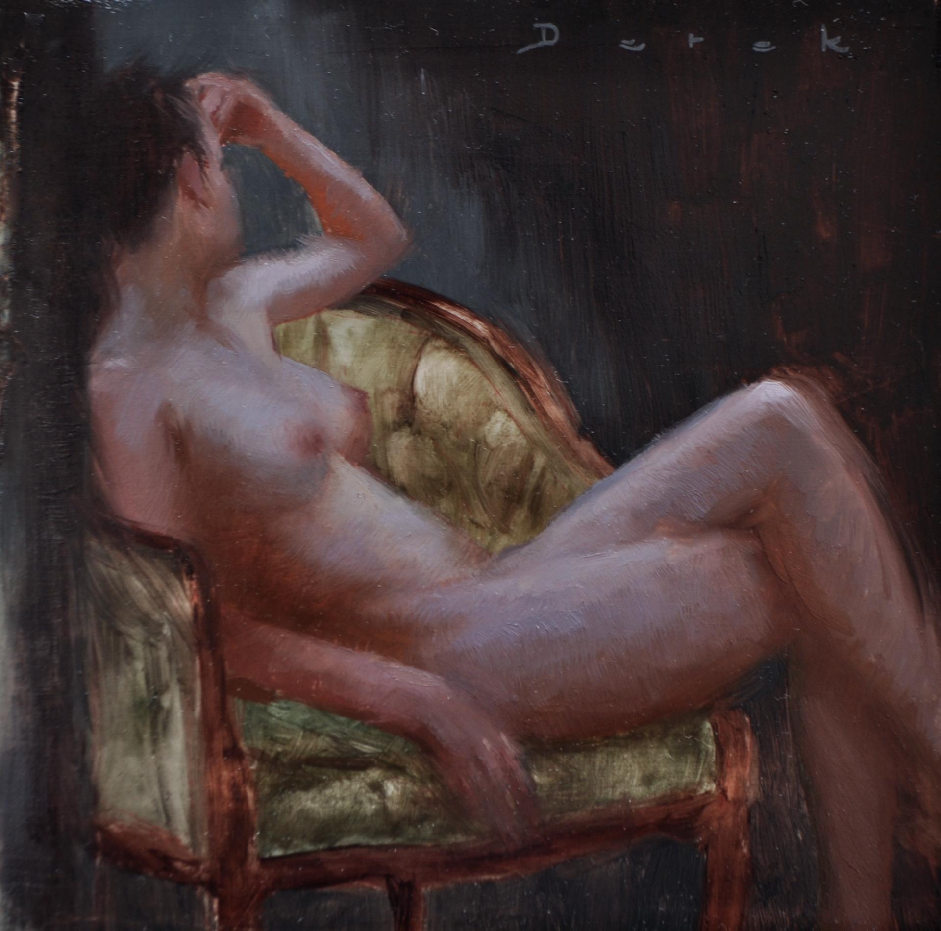 Seated Figure 2 by Derek Harrison