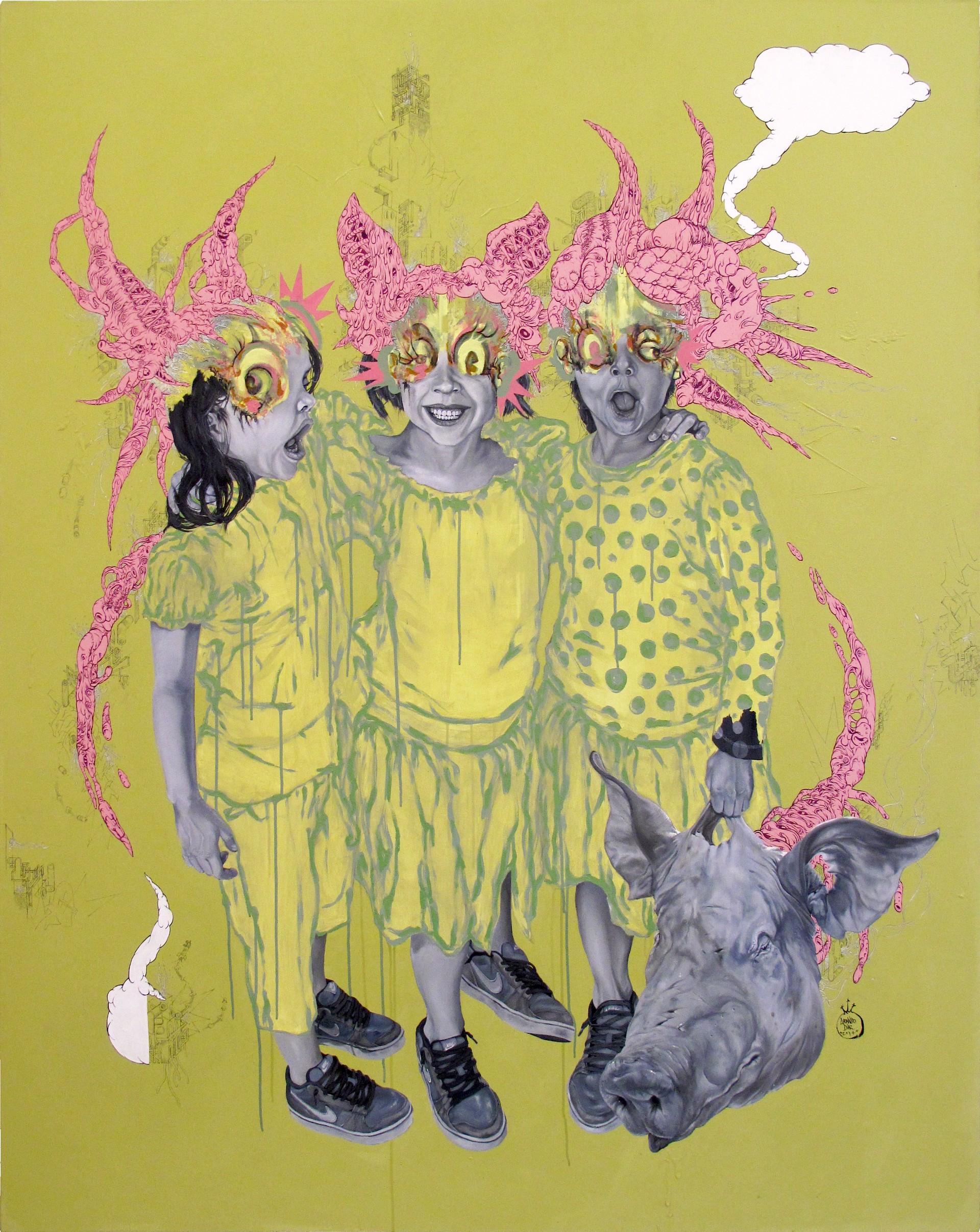 Flesh Androids by Leonardo Diaz