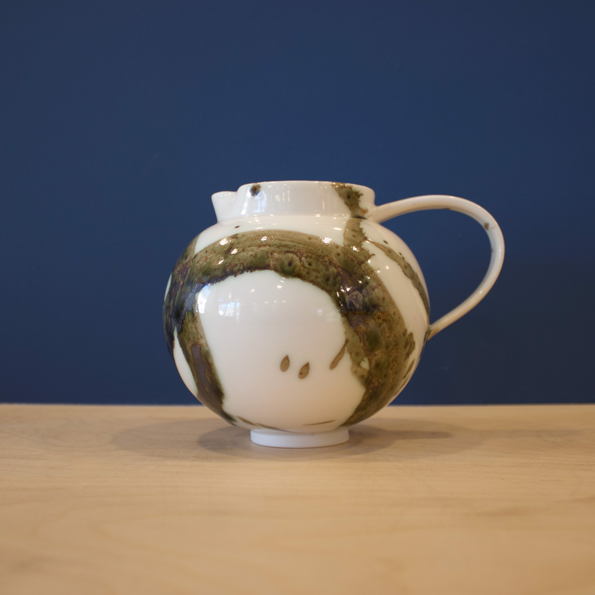Splash Small Round Jug by Patricia Thom