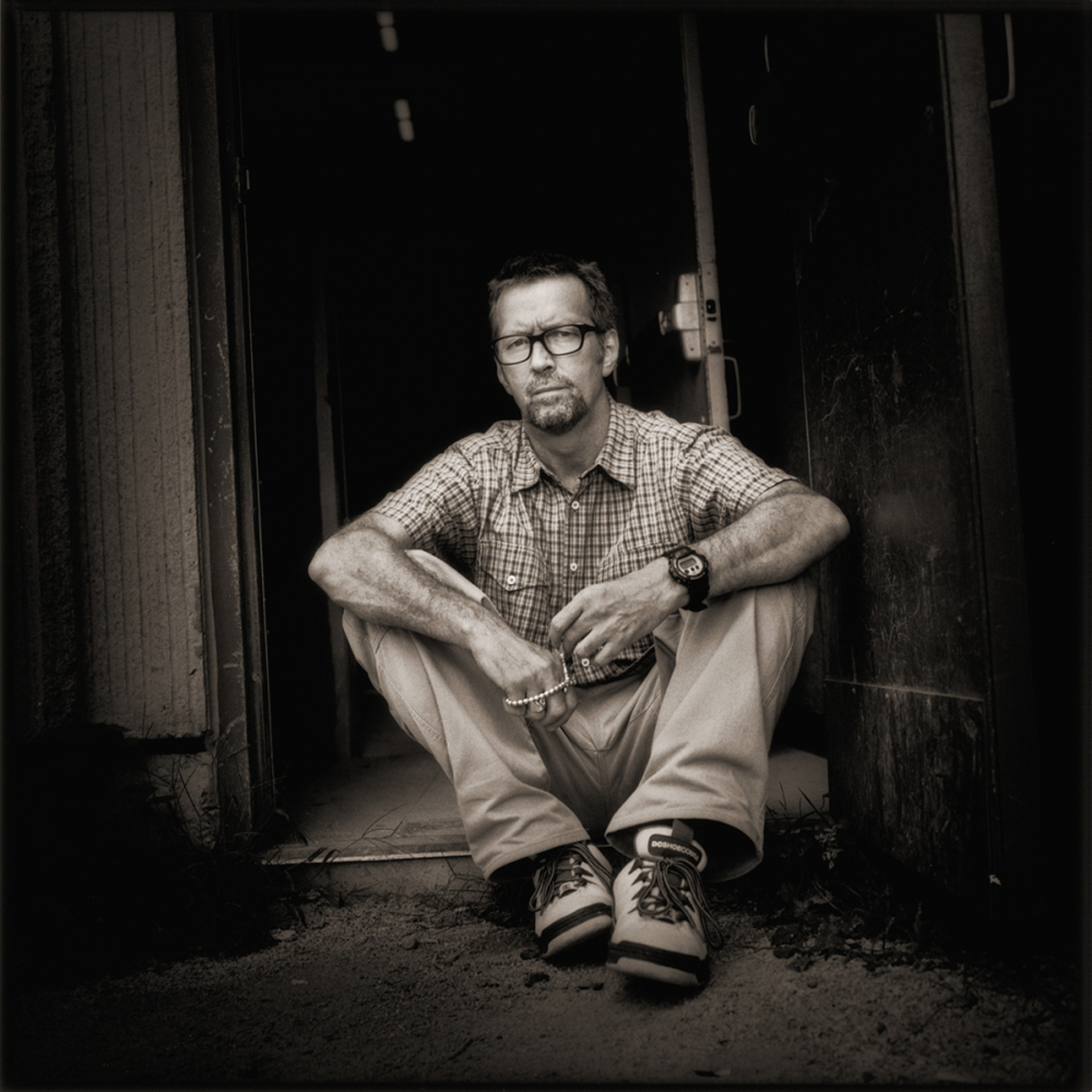 97055 Eric Clapton Final BW by Timothy White