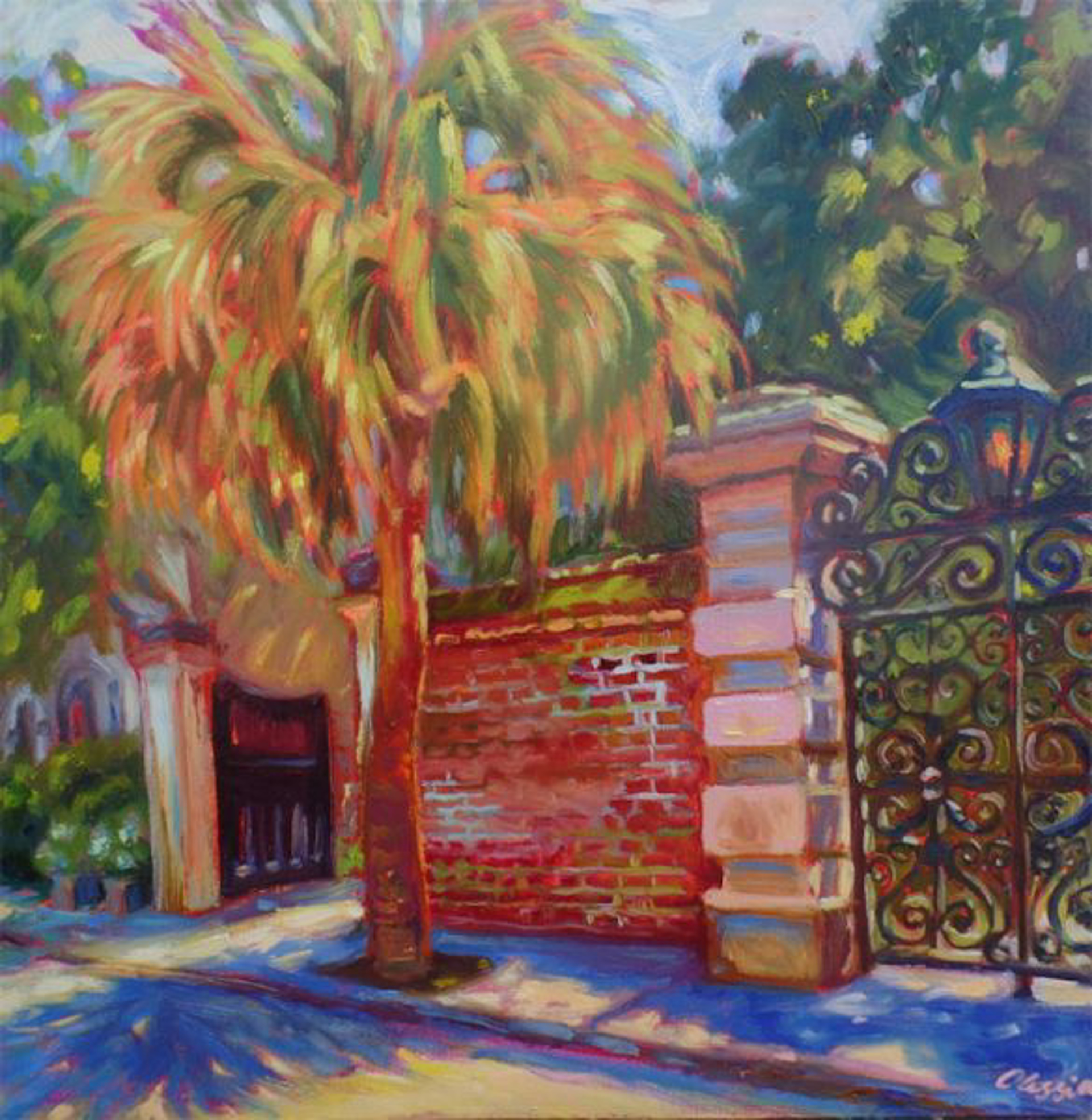 Iron Gate by Olessia Maximenko