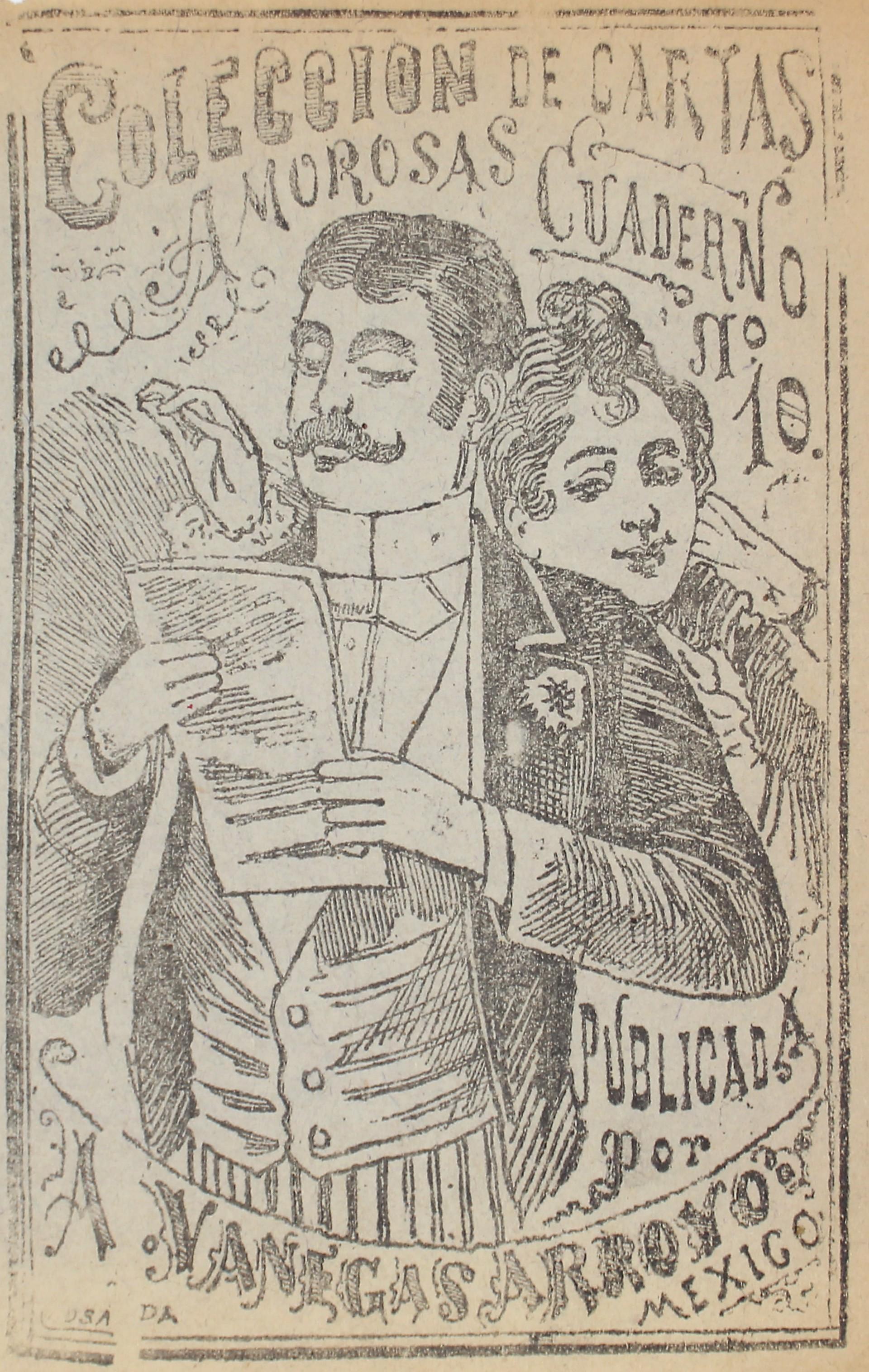 Colección de Cartas Amorosas, Cuaderno 10 by José Guadalupe Posada (1852 - 1913)