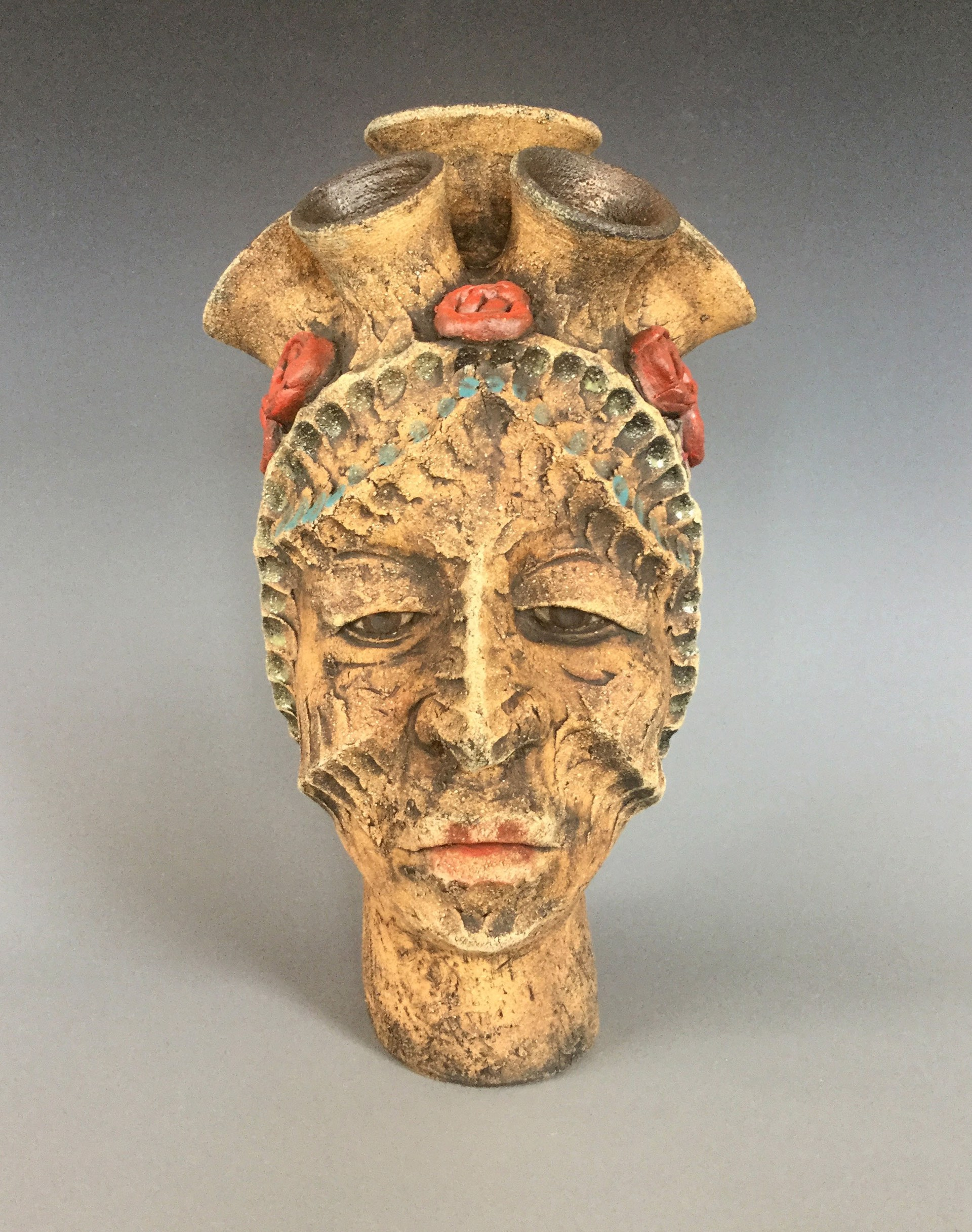 Mary Vase by George Rodriguez